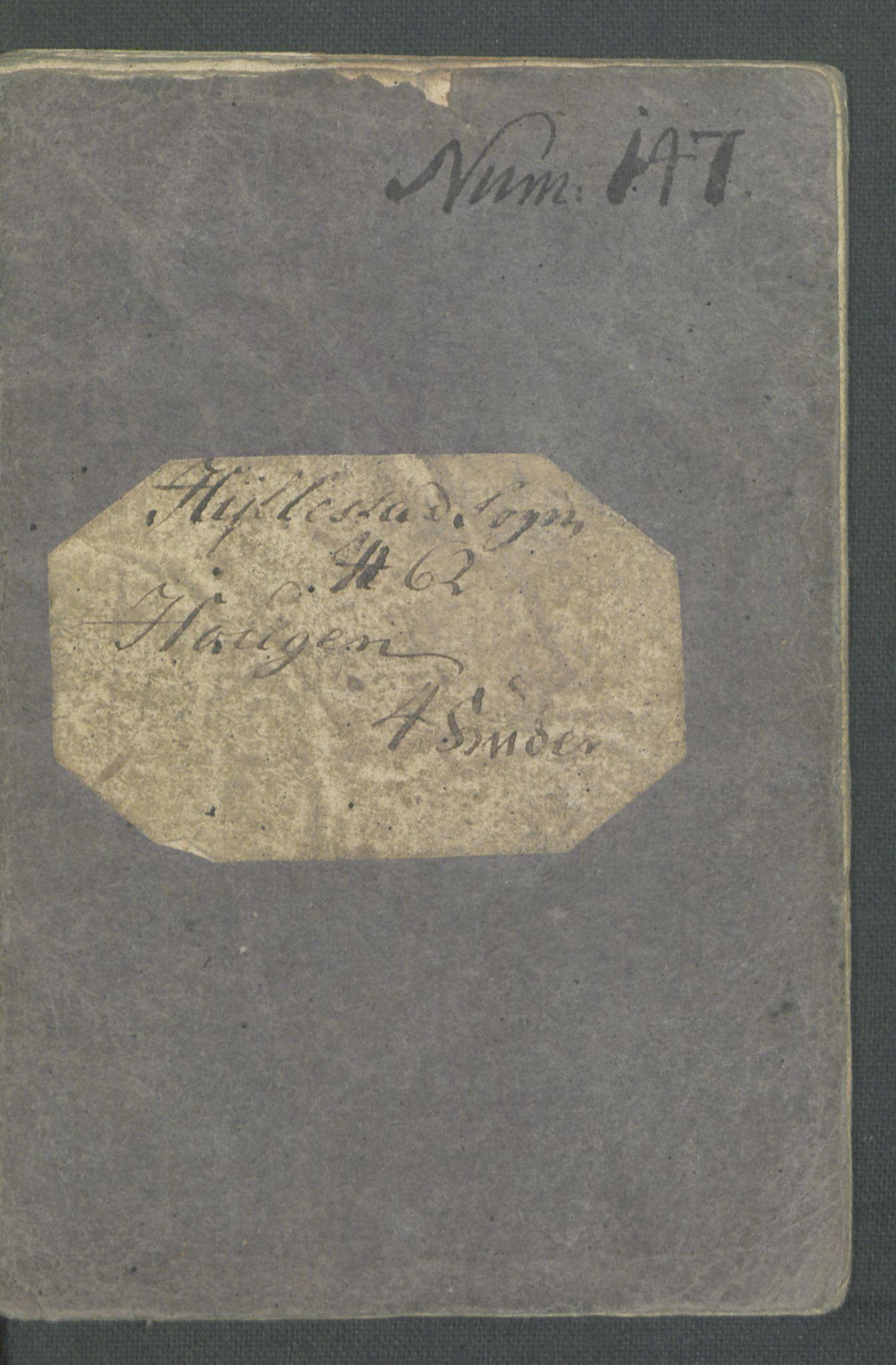 RA, Rentekammeret inntil 1814, Realistisk ordnet avdeling, Od/L0001: Oppløp, 1786-1769, s. 253