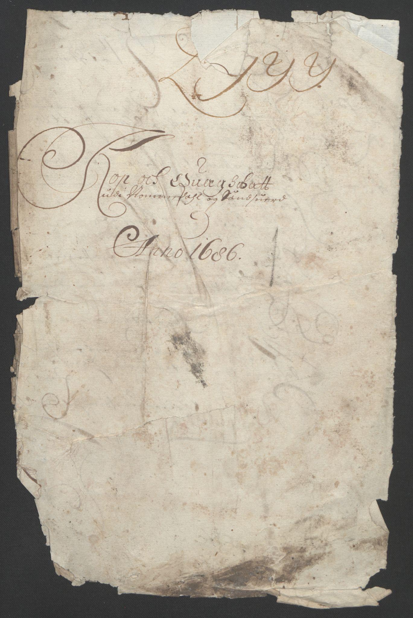 RA, Rentekammeret inntil 1814, Reviderte regnskaper, Fogderegnskap, R24/L1572: Fogderegnskap Numedal og Sandsvær, 1679-1686, s. 184