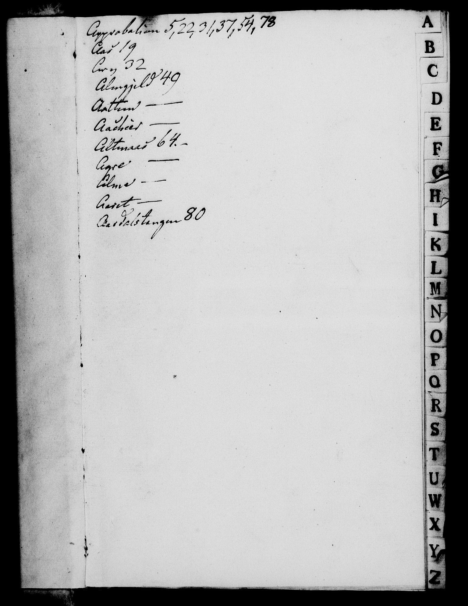 RA, Rentekammeret, Kammerkanselliet, G/Gf/Gfa/L0073: Norsk relasjons- og resolusjonsprotokoll (merket RK 52.73), 1791, s. 3