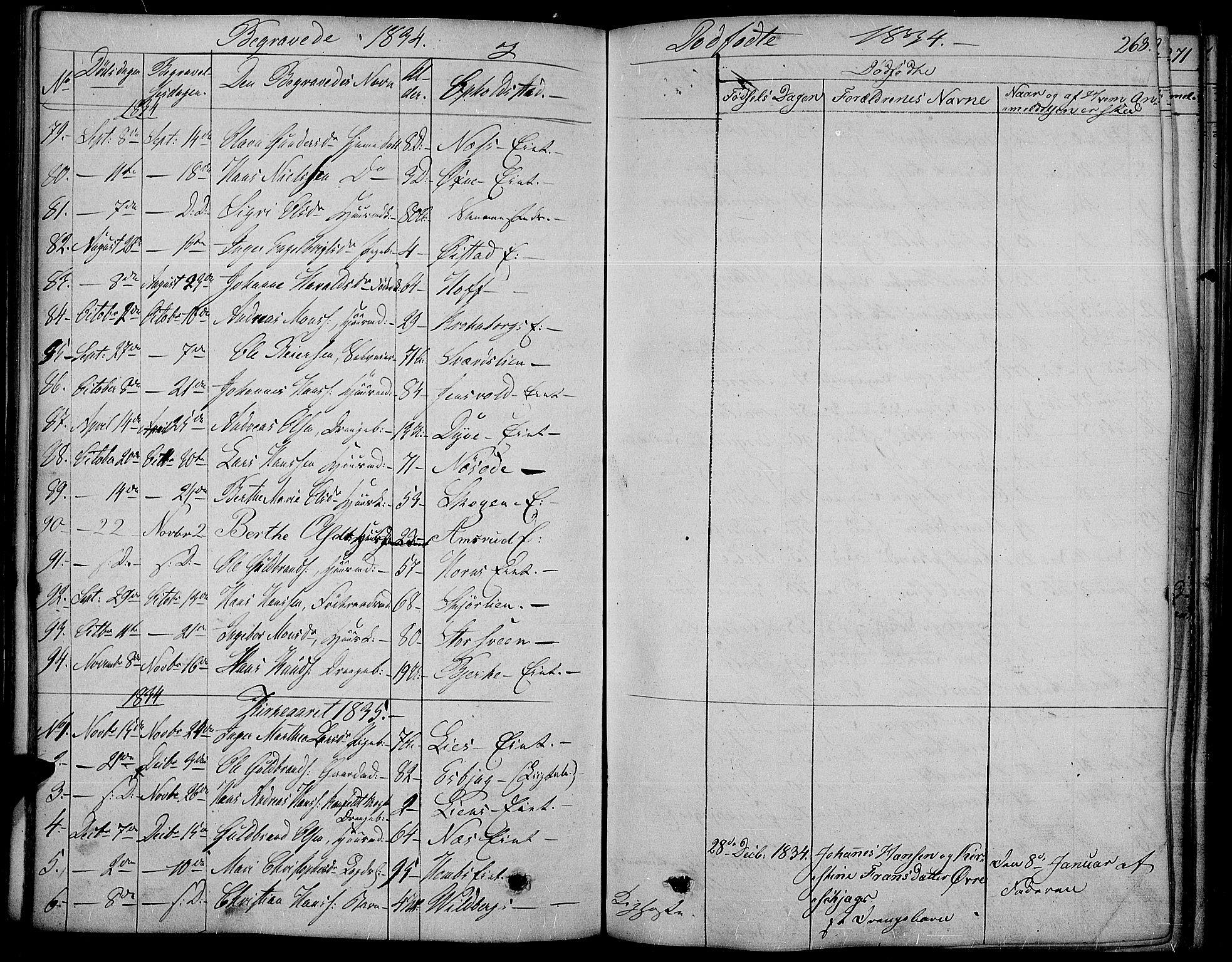 SAH, Land prestekontor, Ministerialbok nr. 8, 1830-1846, s. 268