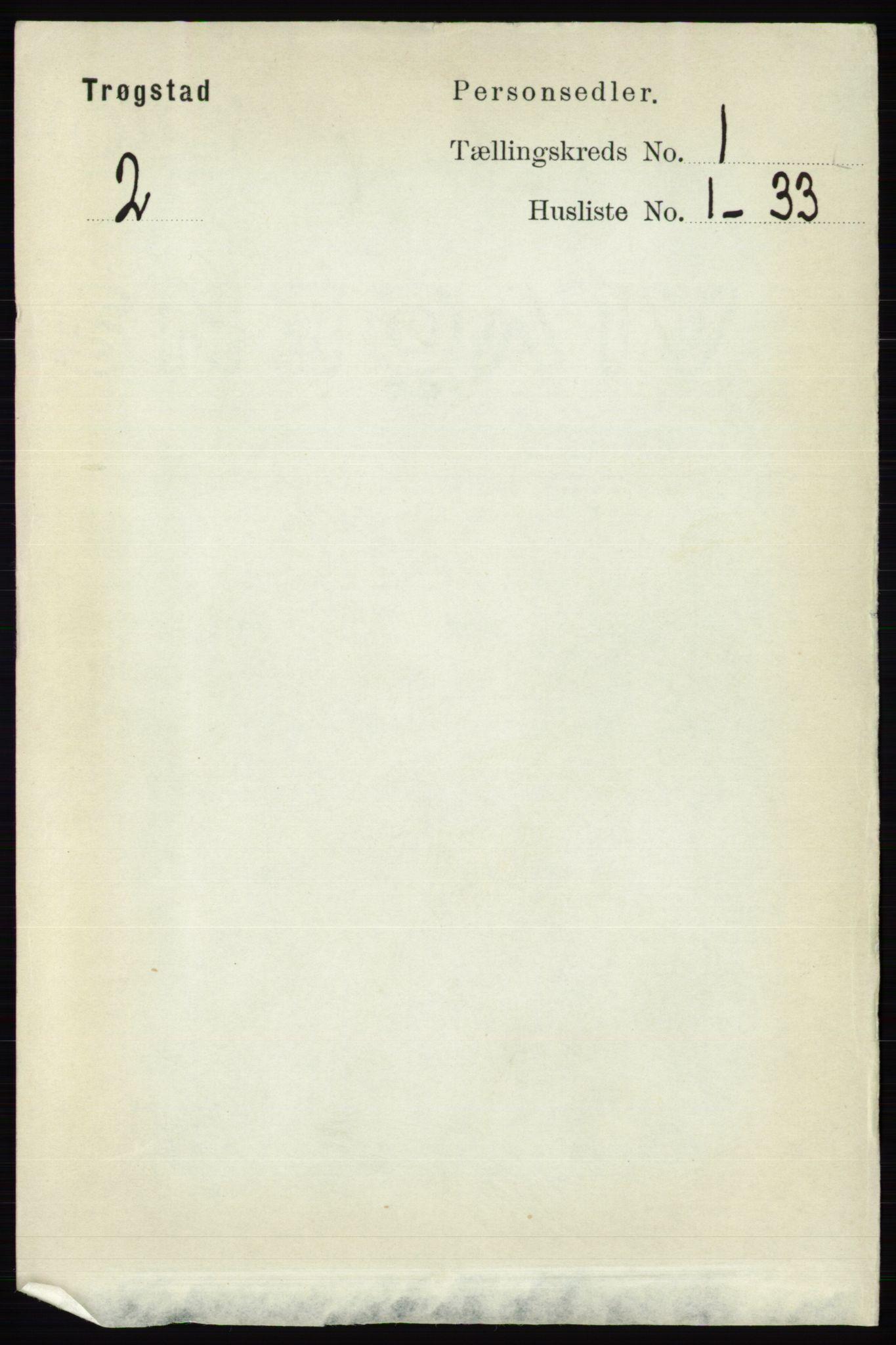 RA, Folketelling 1891 for 0122 Trøgstad herred, 1891, s. 95