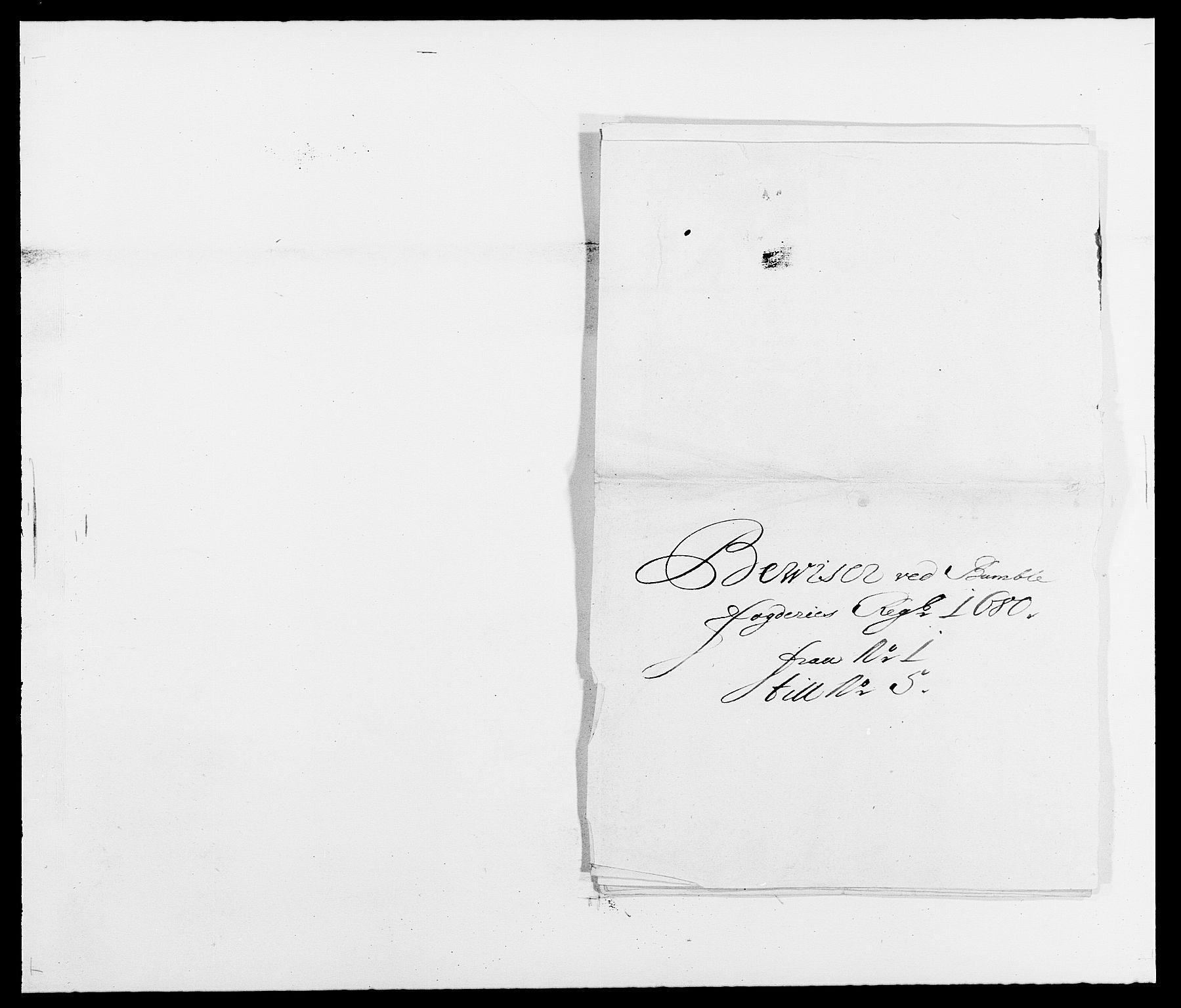 RA, Rentekammeret inntil 1814, Reviderte regnskaper, Fogderegnskap, R34/L2045: Fogderegnskap Bamble, 1680-1681, s. 214