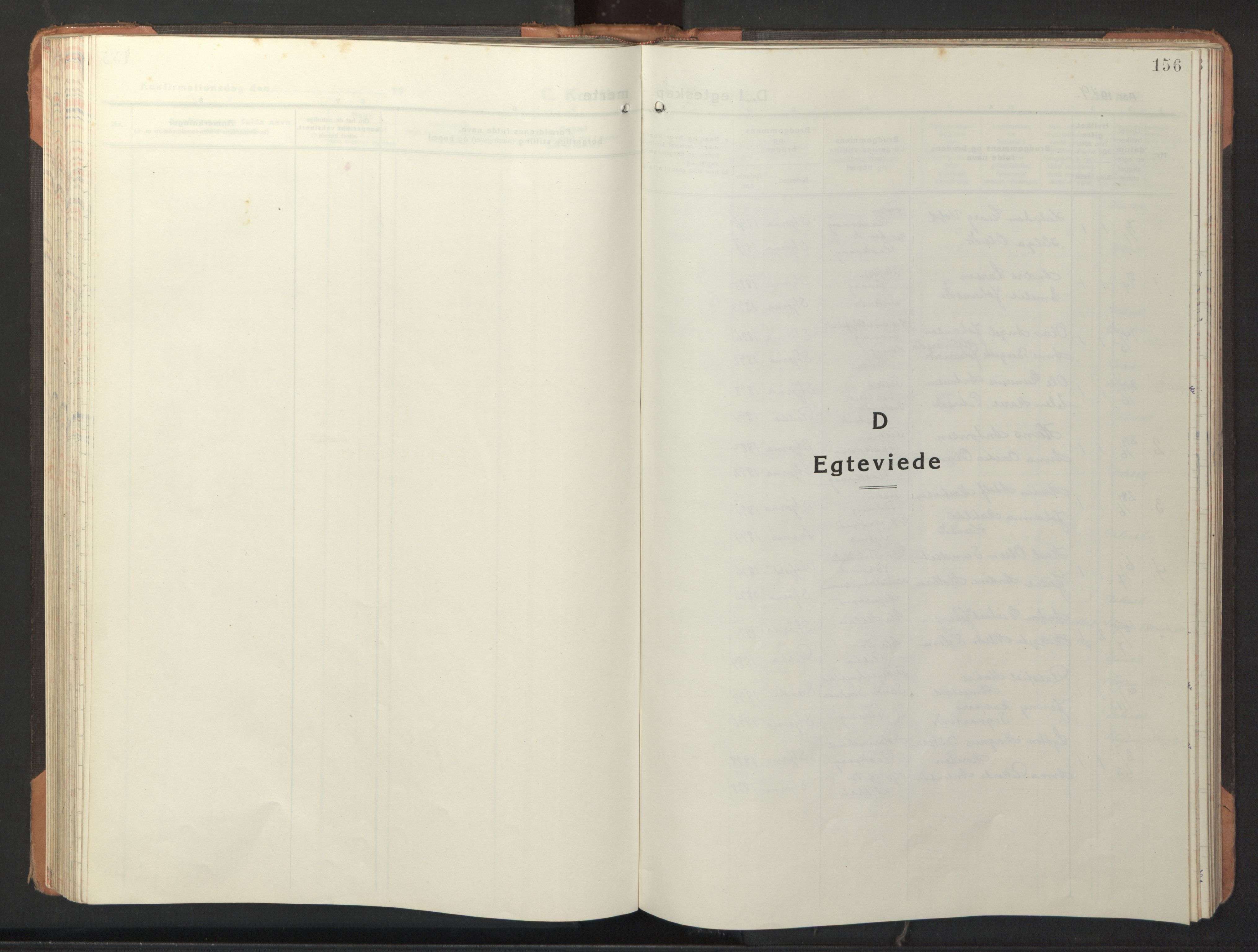 SAT, Ministerialprotokoller, klokkerbøker og fødselsregistre - Sør-Trøndelag, 653/L0658: Klokkerbok nr. 653C02, 1919-1947, s. 156