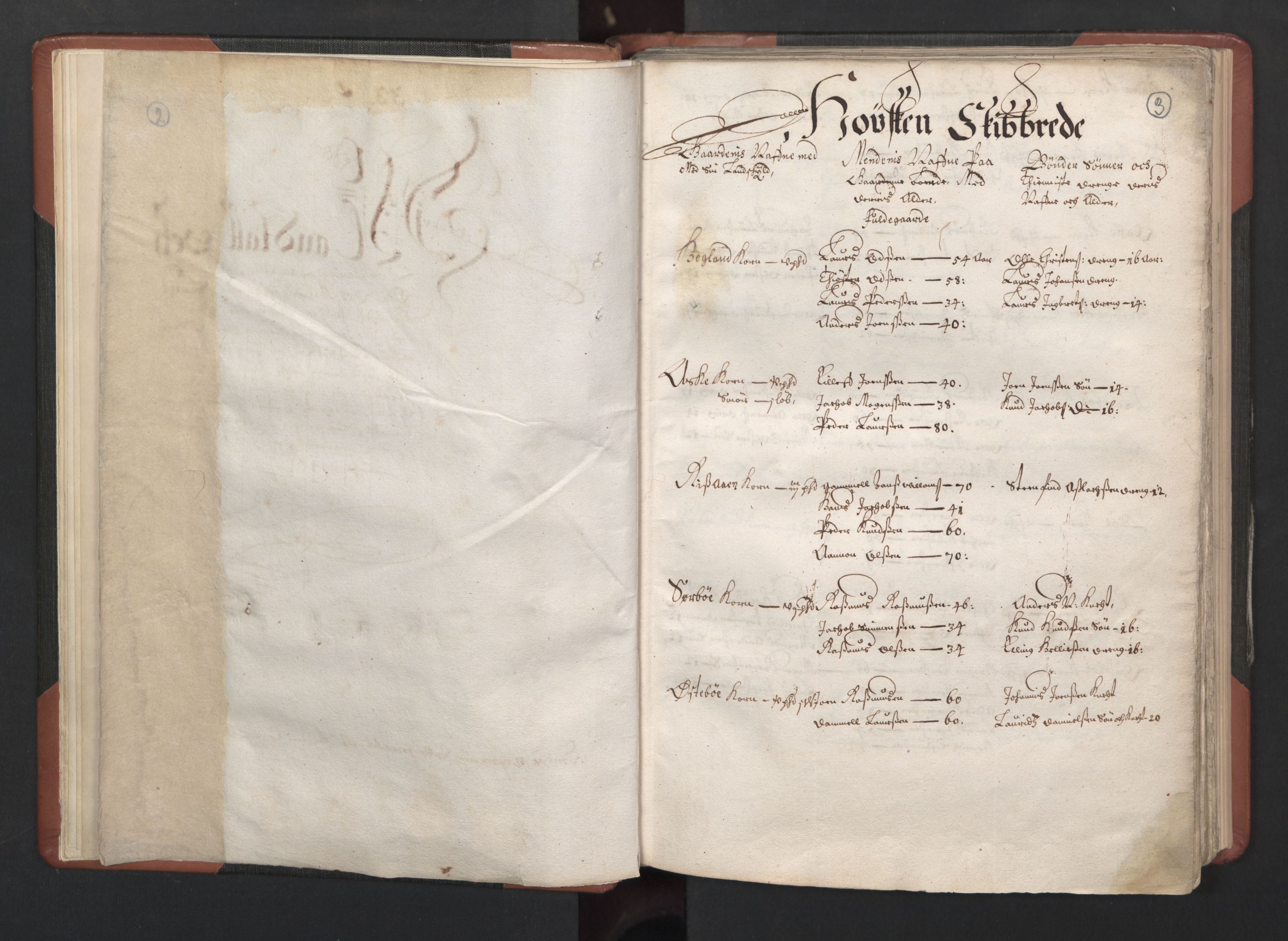 RA, Fogdenes og sorenskrivernes manntall 1664-1666, nr. 12: Ryfylke fogderi, 1664, s. 2-3