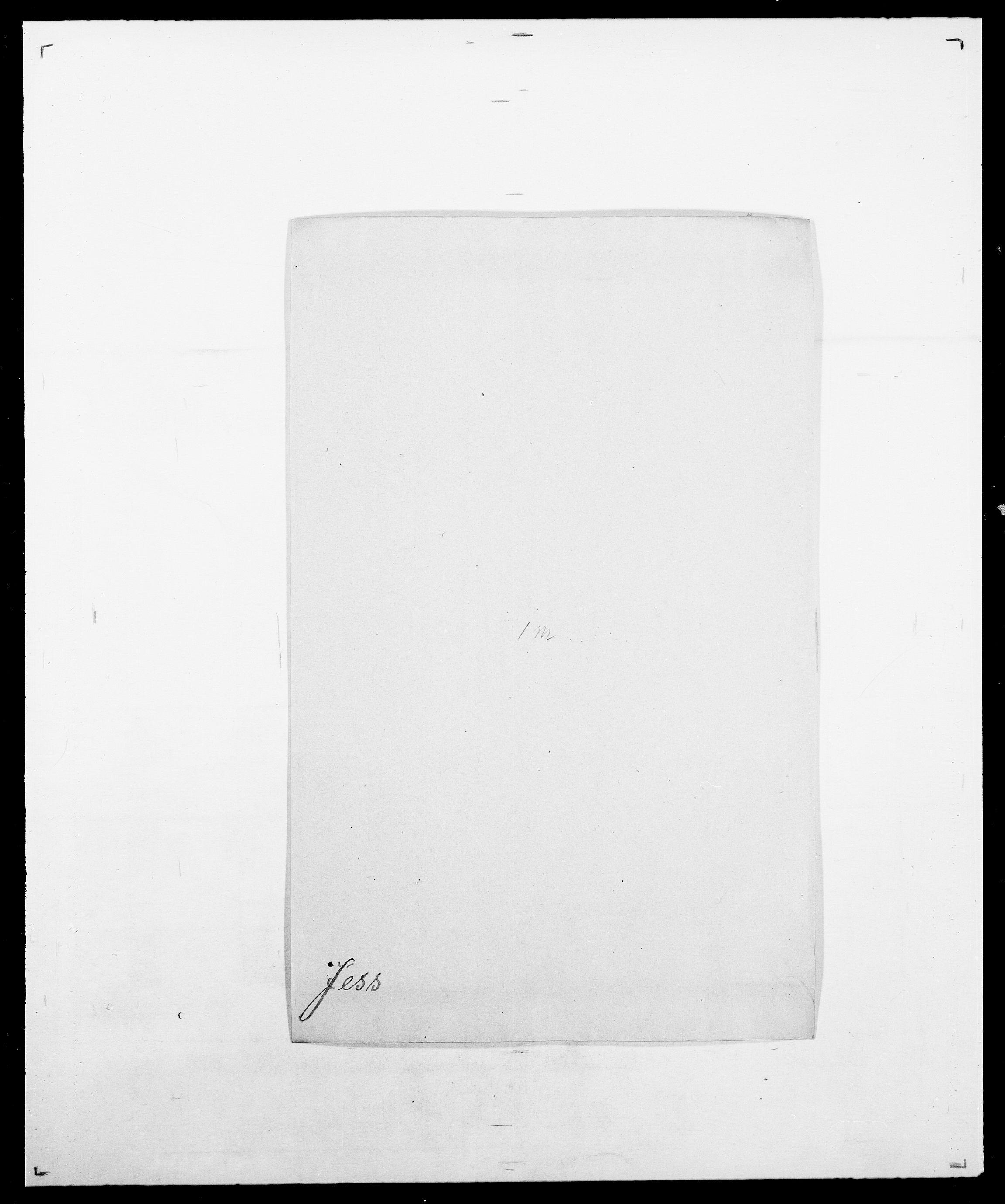 SAO, Delgobe, Charles Antoine - samling, D/Da/L0019: van der Hude - Joys, s. 724