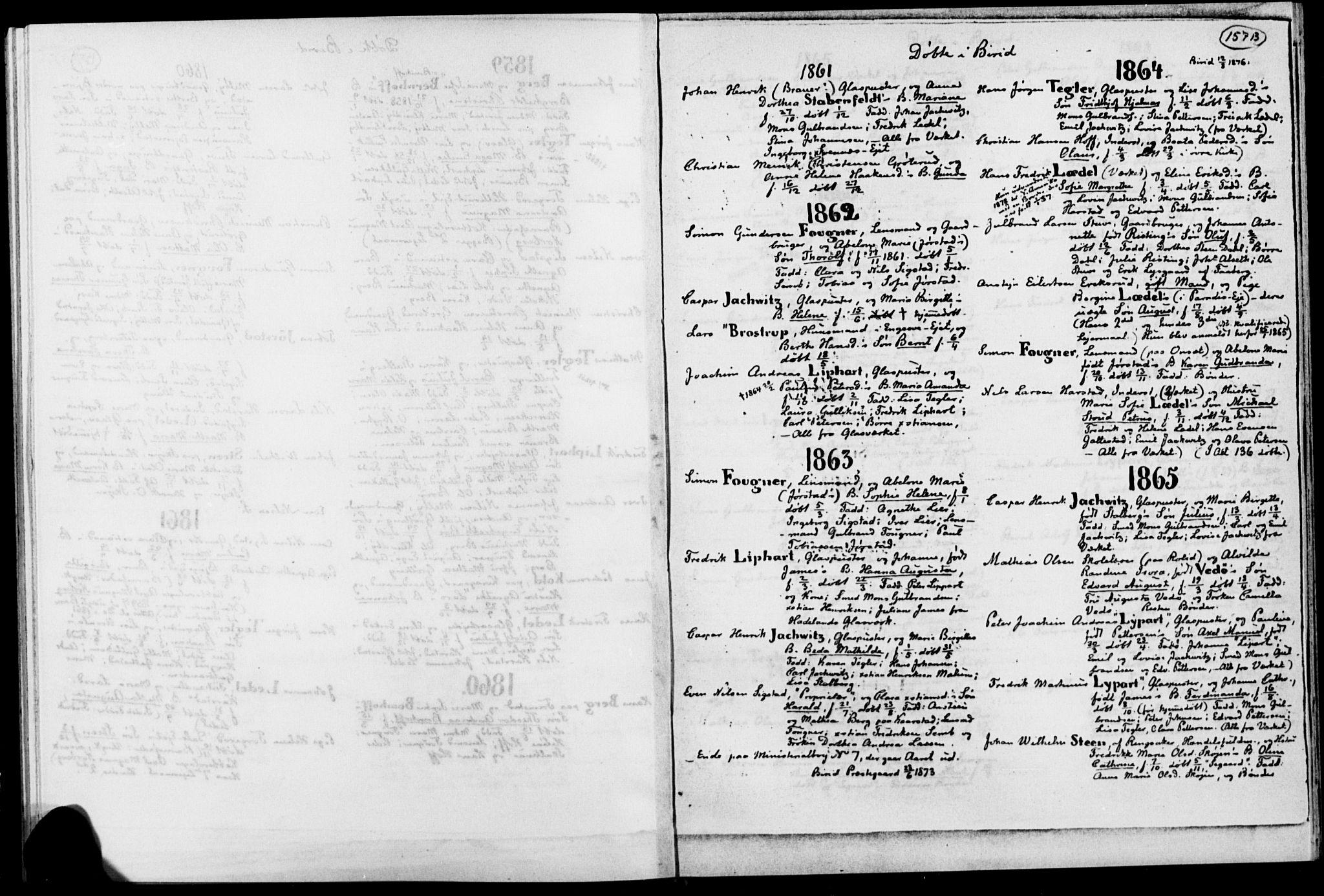 SAH, Biri prestekontor, Ministerialbok, 1730-1879, s. 157b