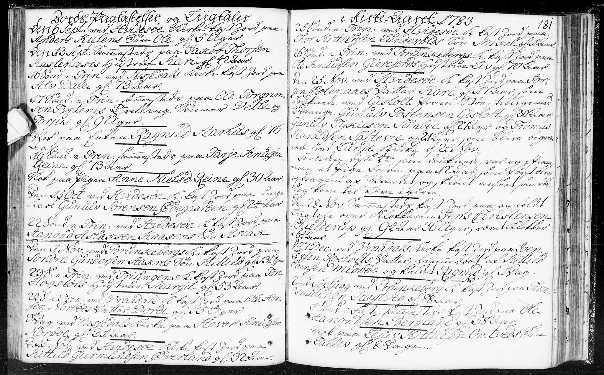 SAKO, Kviteseid kirkebøker, F/Fa/L0002: Ministerialbok nr. I 2, 1773-1786, s. 181