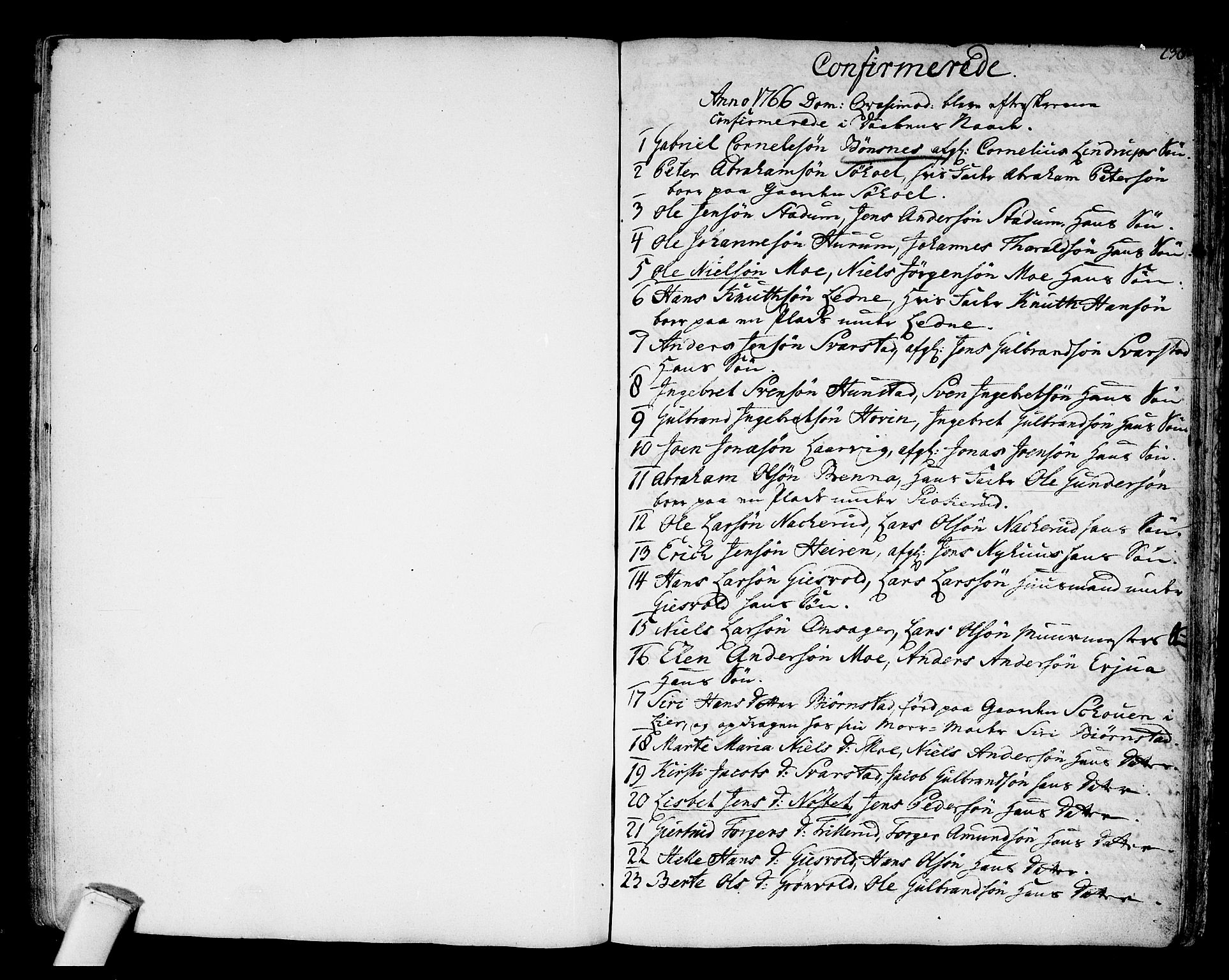 SAKO, Hole kirkebøker, F/Fa/L0002: Ministerialbok nr. I 2, 1766-1814, s. 238