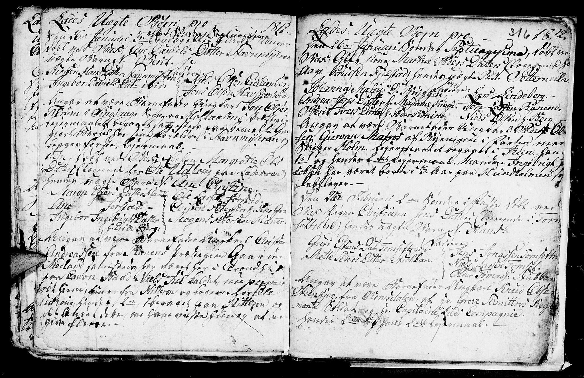 SAT, Ministerialprotokoller, klokkerbøker og fødselsregistre - Sør-Trøndelag, 606/L0305: Klokkerbok nr. 606C01, 1757-1819, s. 316