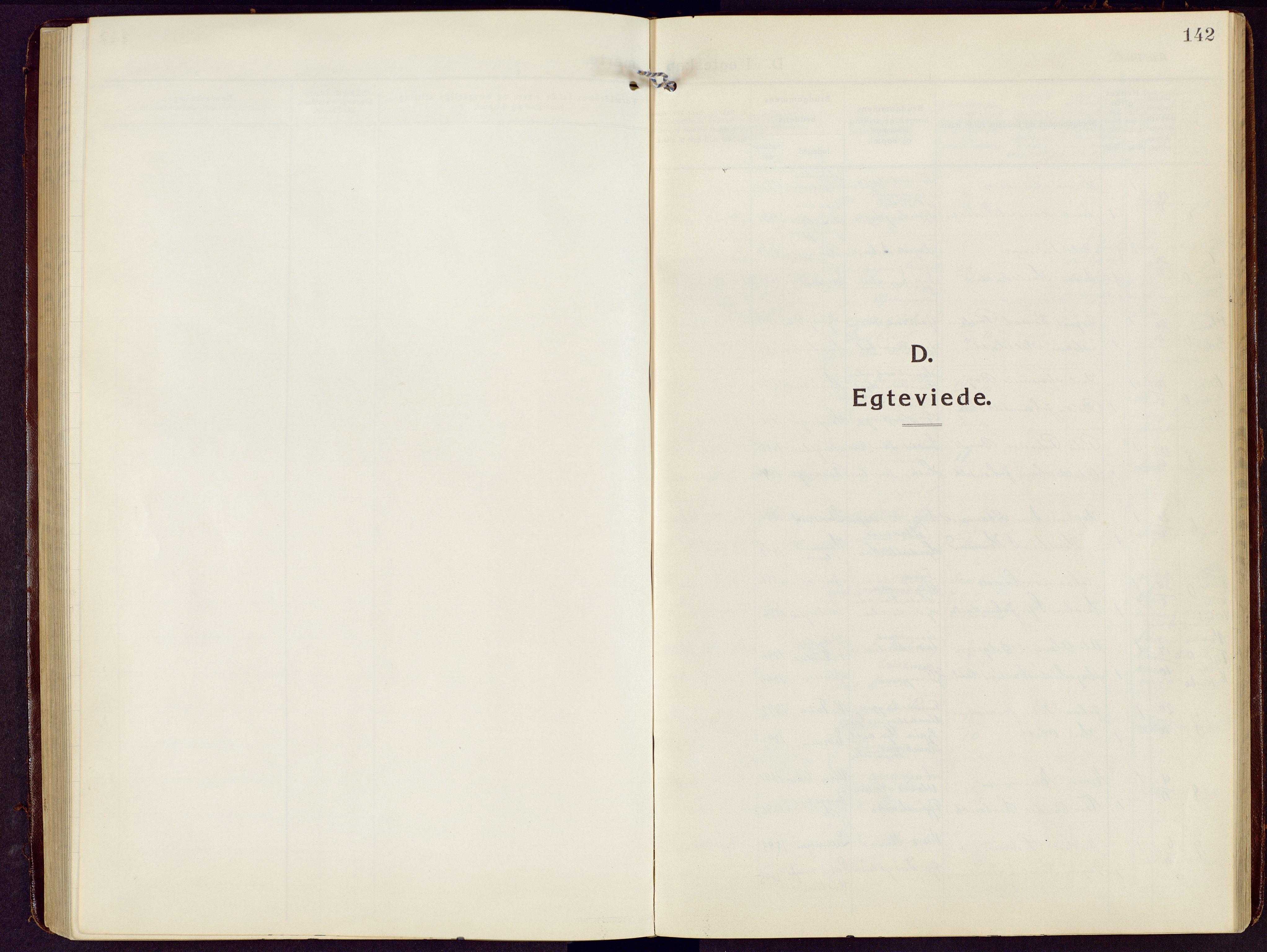 SAH, Brandbu prestekontor, Klokkerbok nr. 10, 1916-1930, s. 142