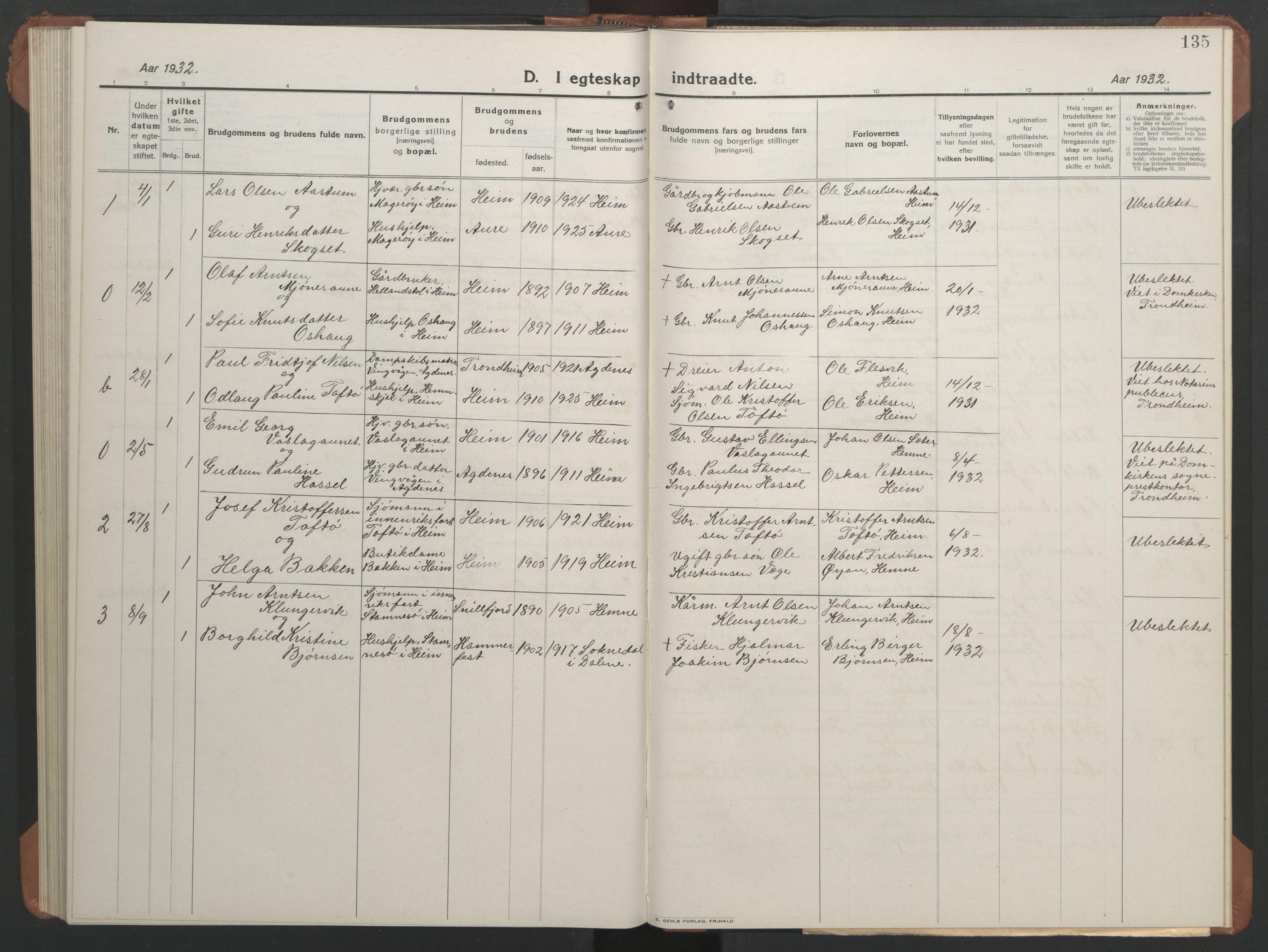 SAT, Ministerialprotokoller, klokkerbøker og fødselsregistre - Sør-Trøndelag, 633/L0521: Klokkerbok nr. 633C03, 1921-1941, s. 127