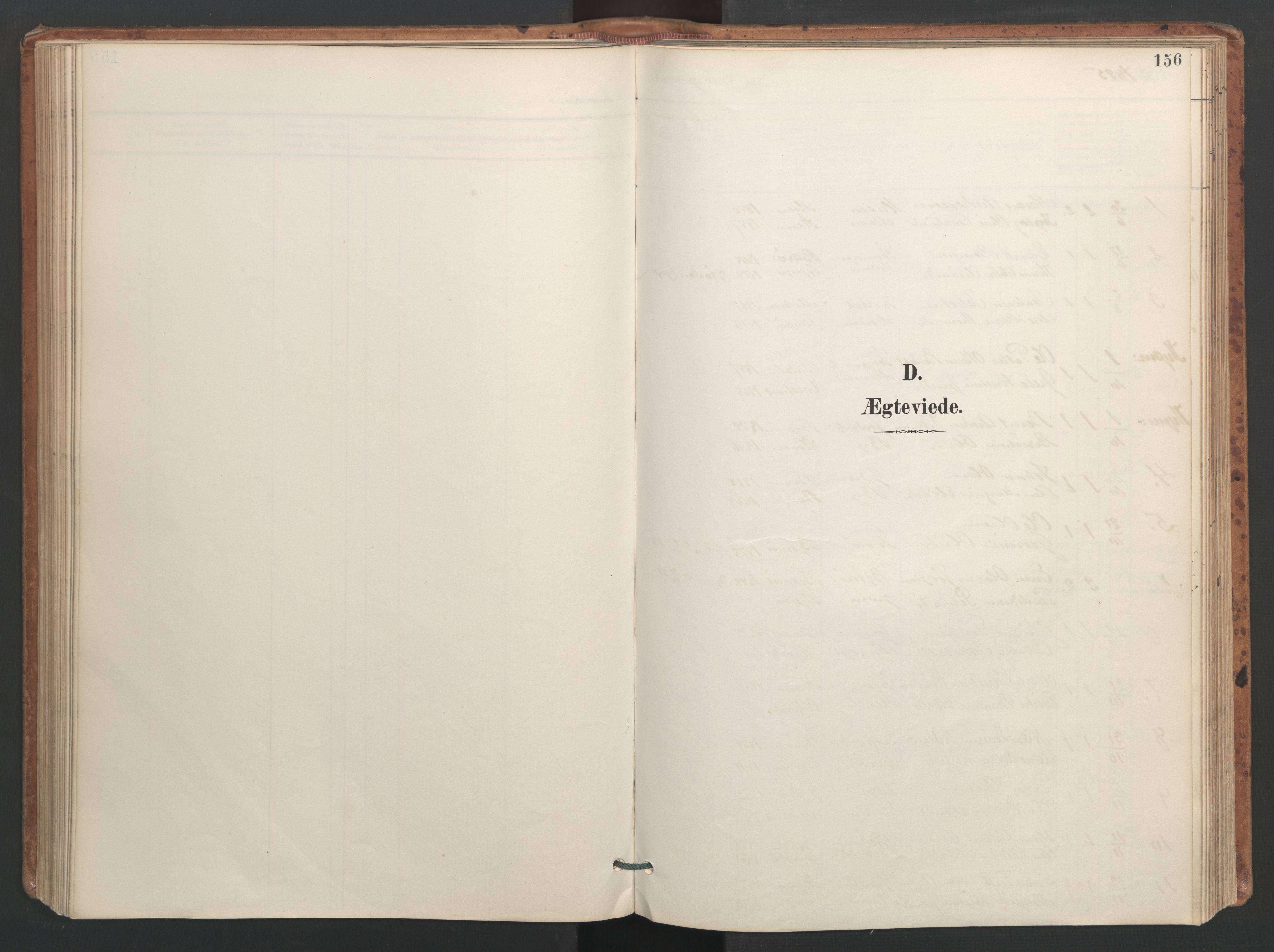 SAT, Ministerialprotokoller, klokkerbøker og fødselsregistre - Sør-Trøndelag, 655/L0681: Ministerialbok nr. 655A10, 1895-1907, s. 156
