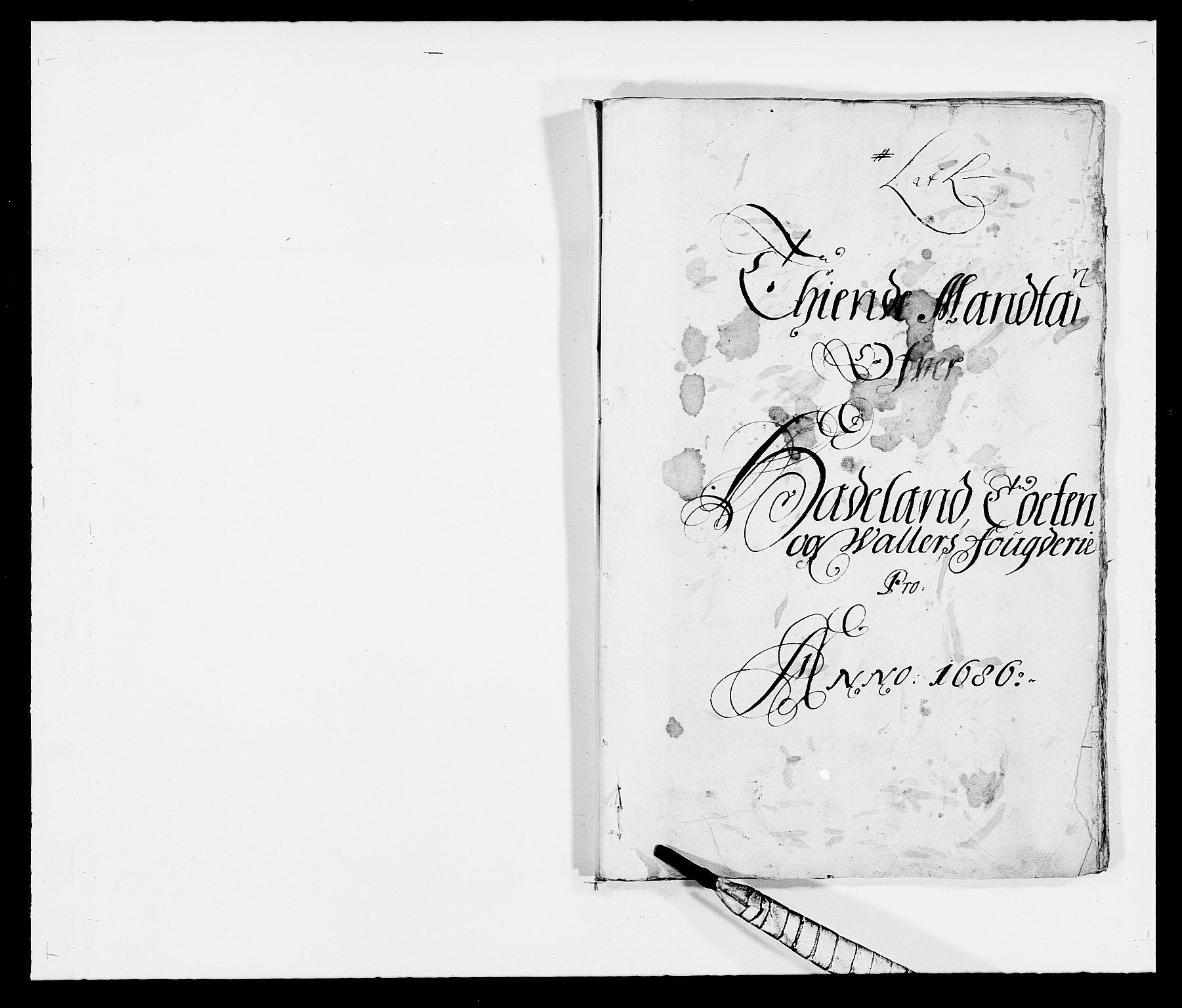 RA, Rentekammeret inntil 1814, Reviderte regnskaper, Fogderegnskap, R18/L1285: Fogderegnskap Hadeland, Toten og Valdres, 1686, s. 97