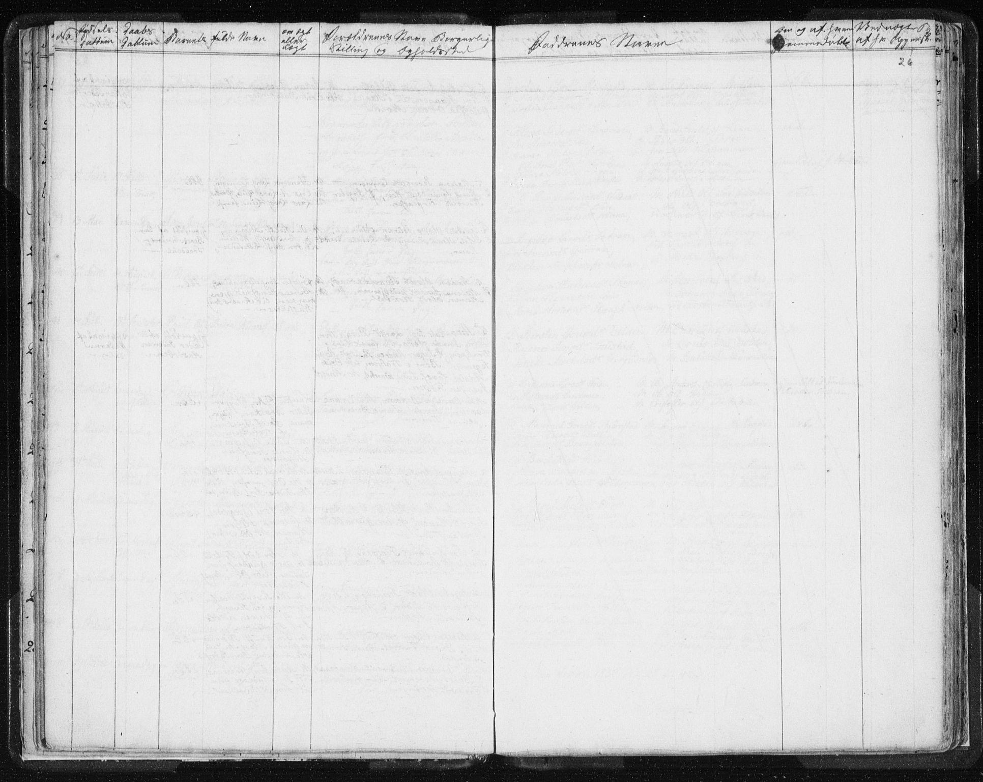 SAT, Ministerialprotokoller, klokkerbøker og fødselsregistre - Sør-Trøndelag, 616/L0404: Ministerialbok nr. 616A01, 1823-1831, s. 26