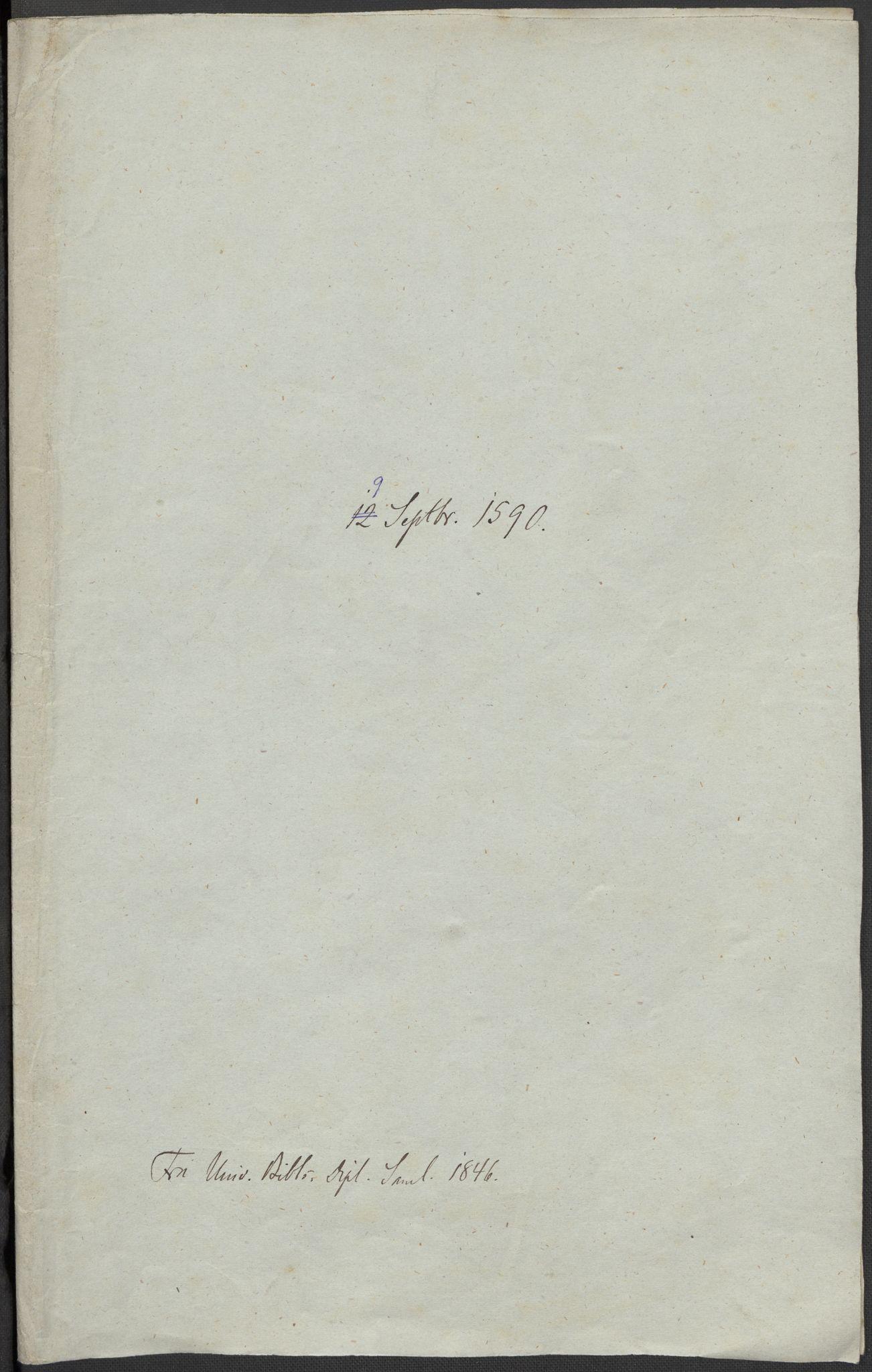 RA, Riksarkivets diplomsamling, F02/L0092: Dokumenter, 1590, s. 6