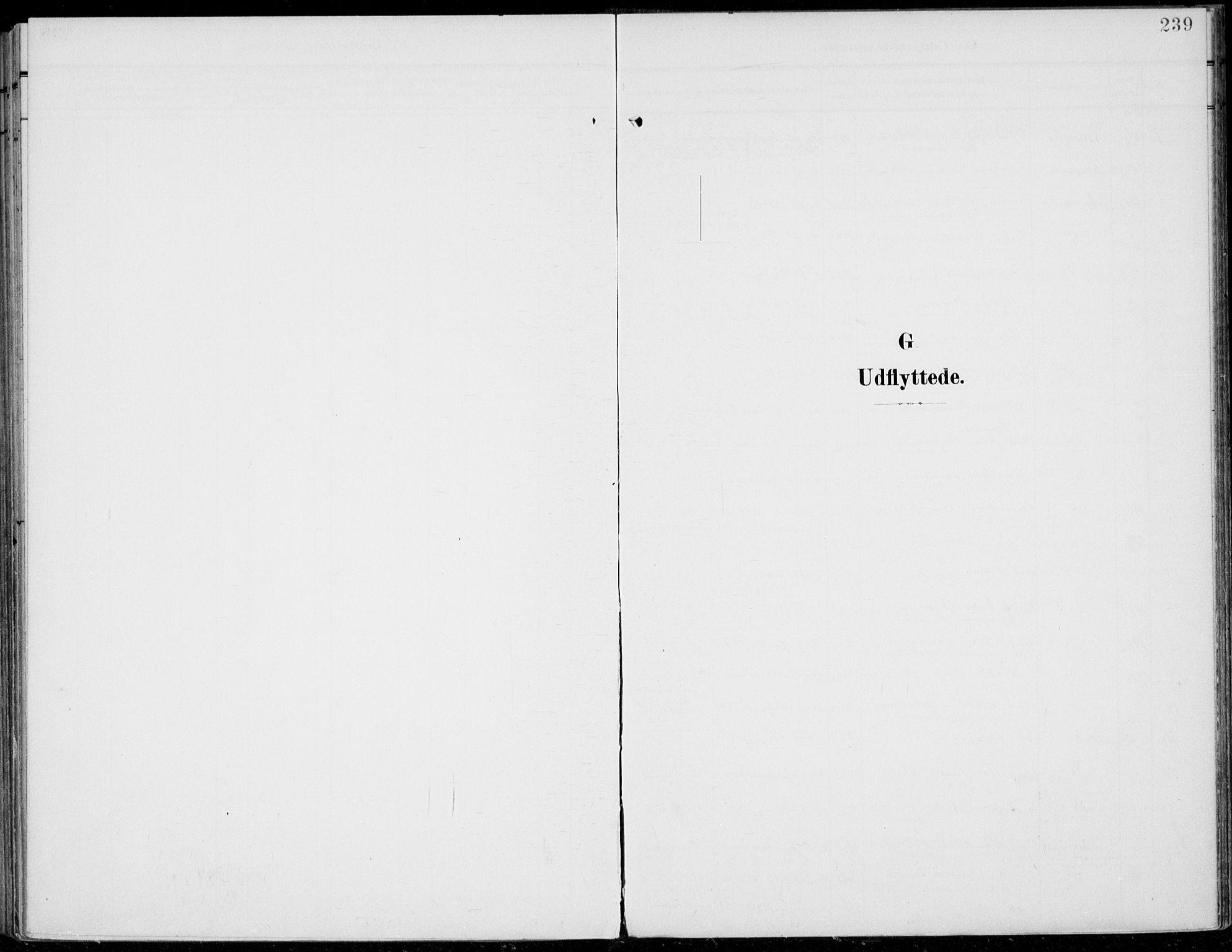 SAH, Jevnaker prestekontor, Ministerialbok nr. 11, 1902-1913, s. 239