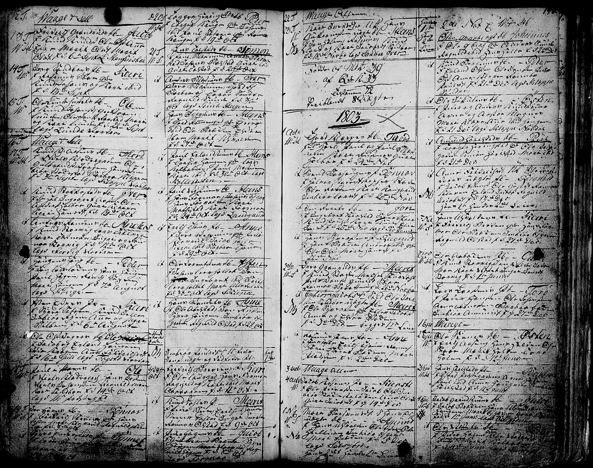 SAH, Vågå prestekontor, Ministerialbok nr. 1, 1739-1810, s. 140