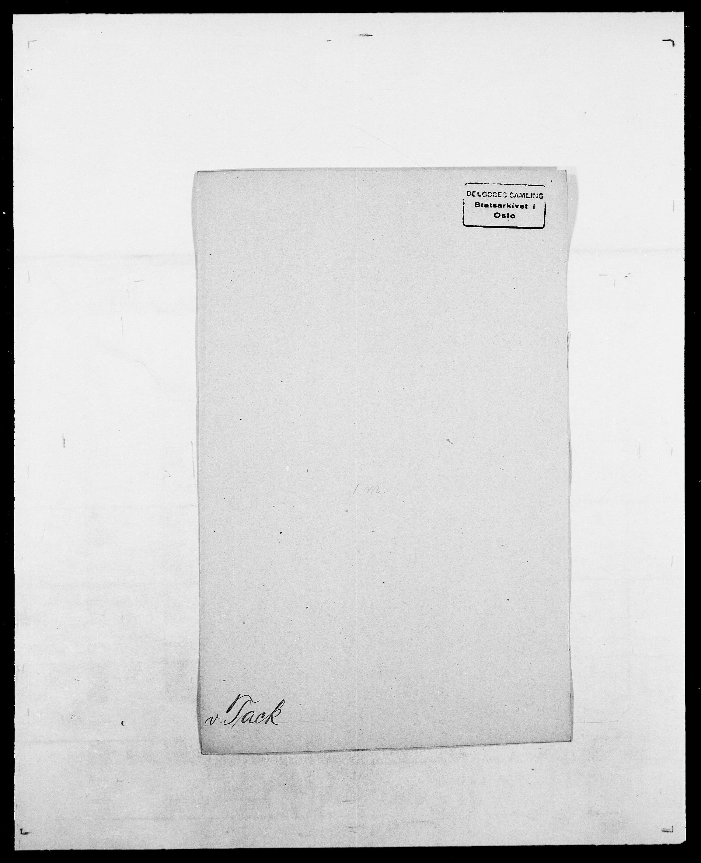 SAO, Delgobe, Charles Antoine - samling, D/Da/L0038: Svanenskjold - Thornsohn, s. 266