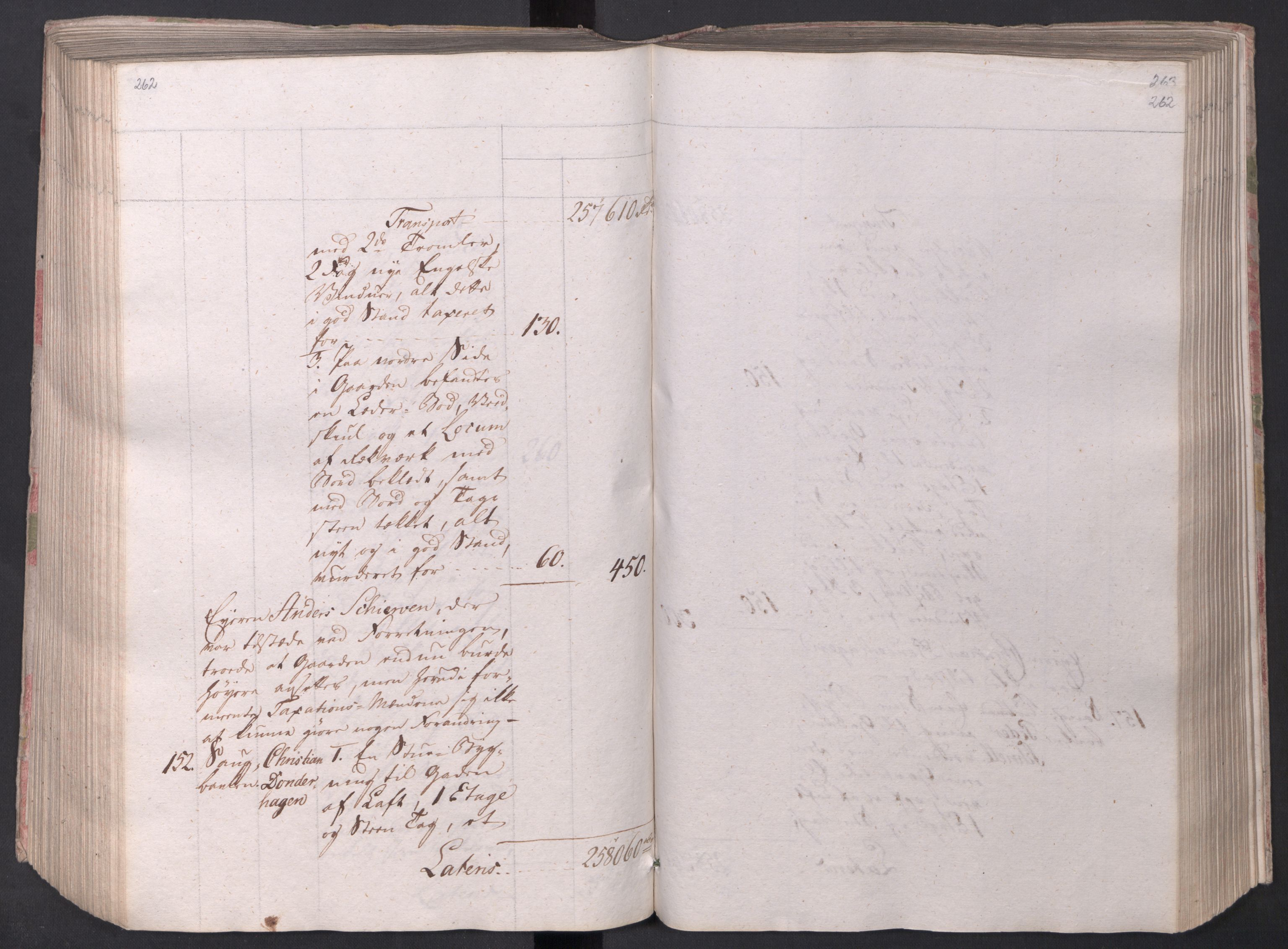 SAO, Kristiania stiftamt, I/Ia/L0015: Branntakster, 1797, s. 262