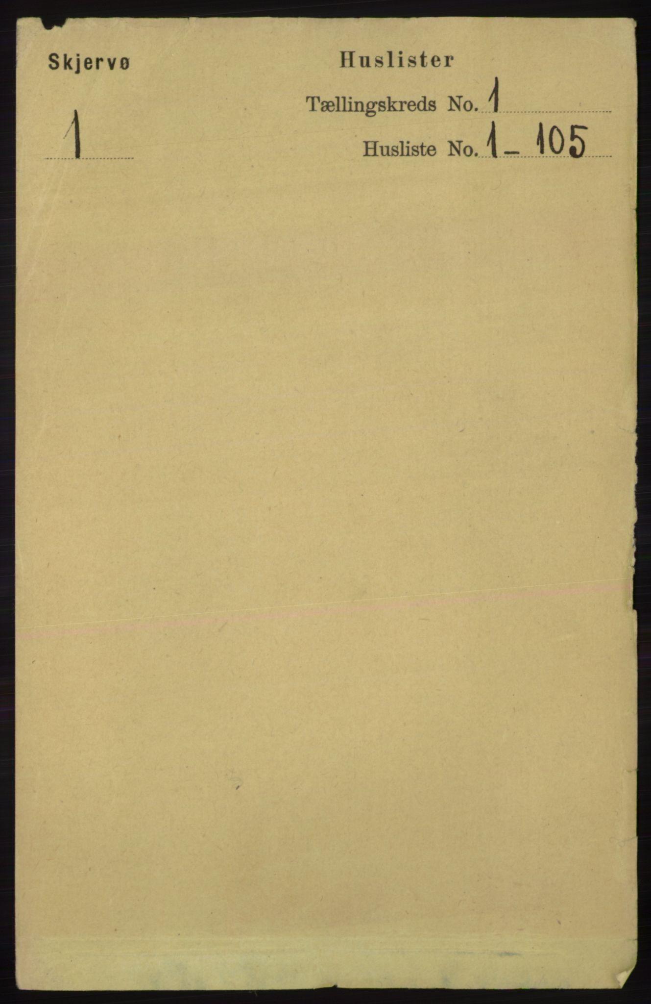 RA, Folketelling 1891 for 1941 Skjervøy herred, 1891, s. 18