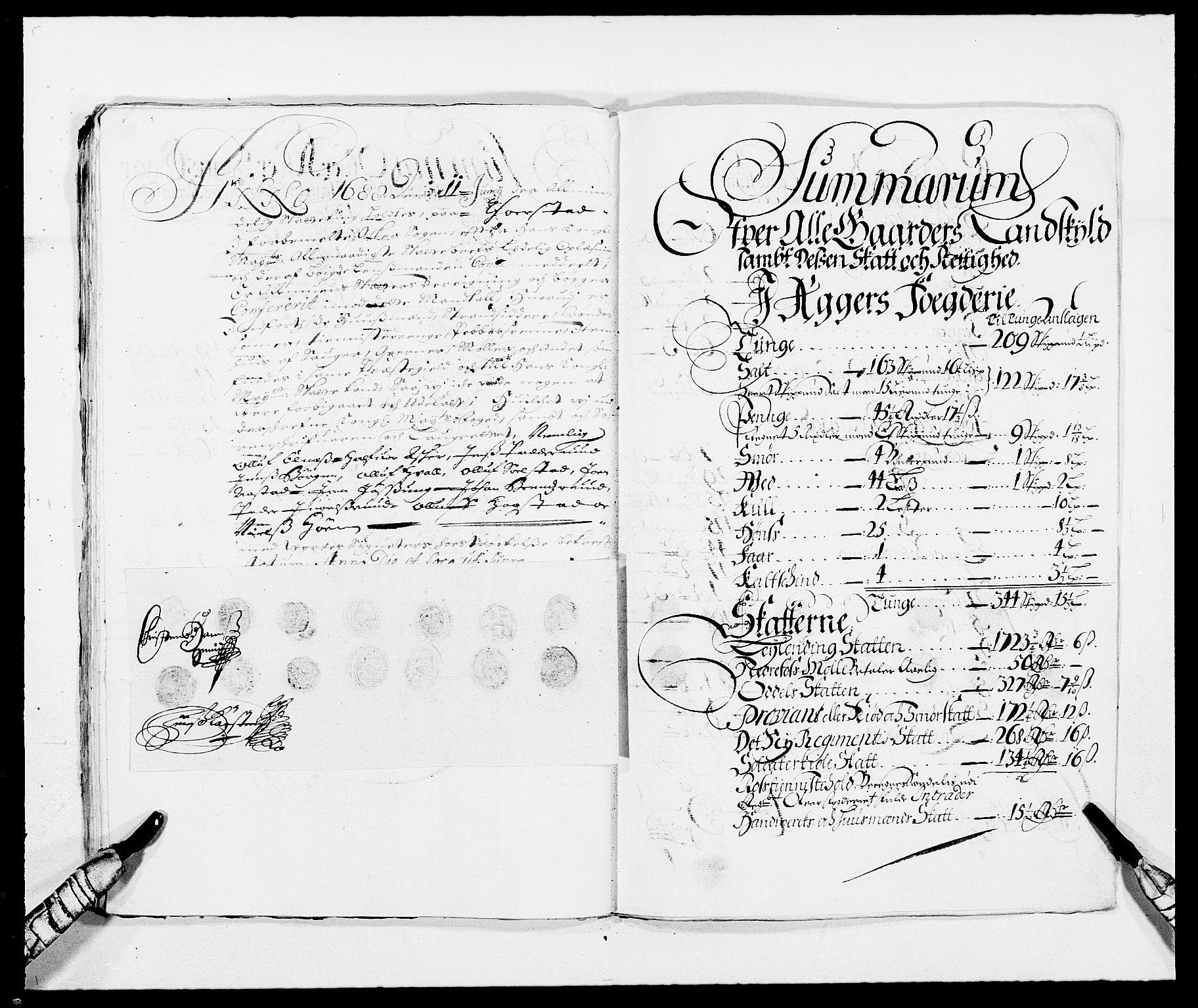 RA, Rentekammeret inntil 1814, Reviderte regnskaper, Fogderegnskap, R08/L0422: Fogderegnskap Aker, 1684-1686, s. 336