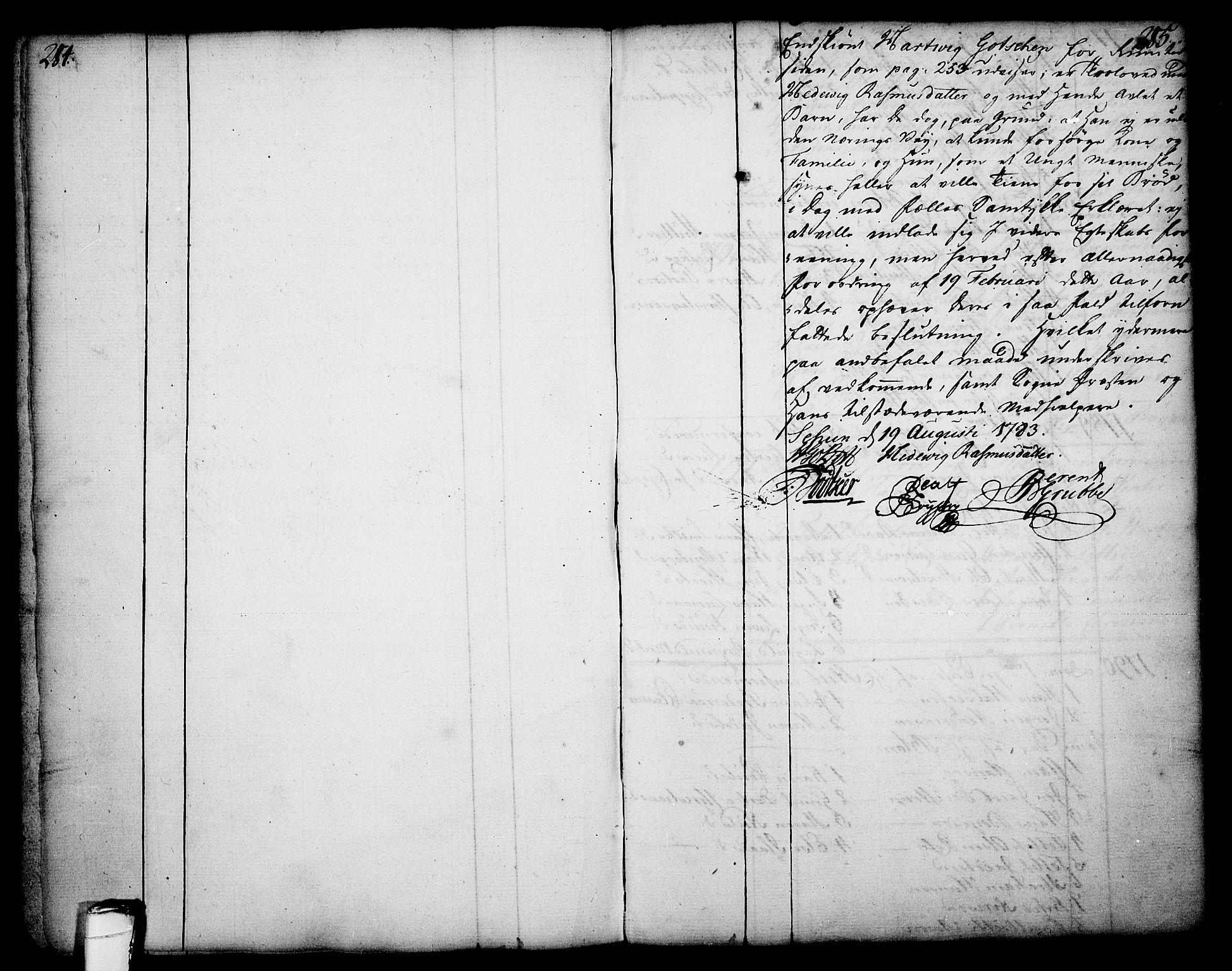 SAKO, Skien kirkebøker, F/Fa/L0003: Ministerialbok nr. 3, 1755-1791, s. 284-285
