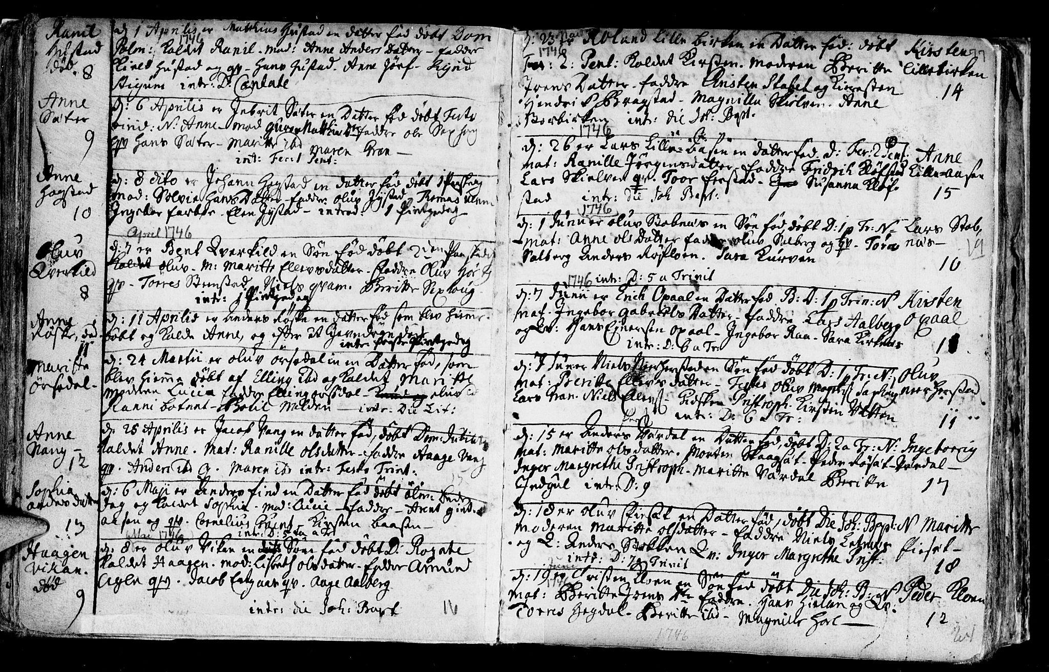 SAT, Ministerialprotokoller, klokkerbøker og fødselsregistre - Nord-Trøndelag, 730/L0272: Ministerialbok nr. 730A01, 1733-1764, s. 77