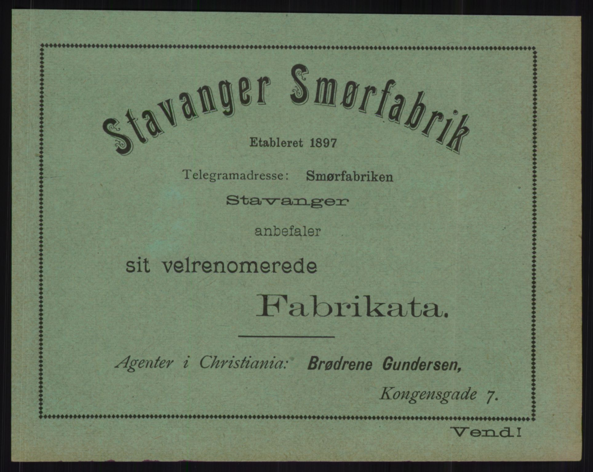 RA, Kristiania adressebok (publikasjon)*, 1904, s. upaginert