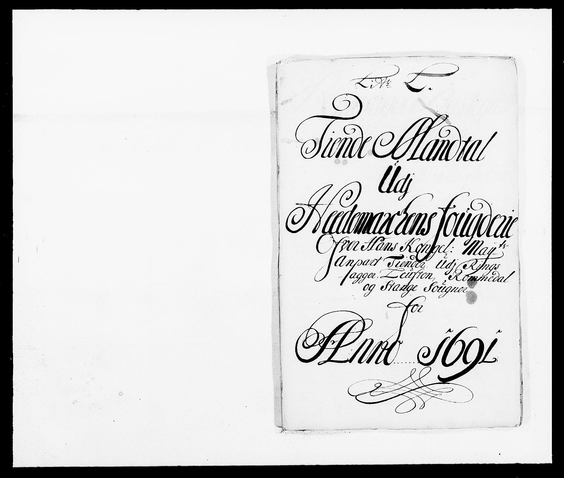 RA, Rentekammeret inntil 1814, Reviderte regnskaper, Fogderegnskap, R16/L1030: Fogderegnskap Hedmark, 1689-1691, s. 343
