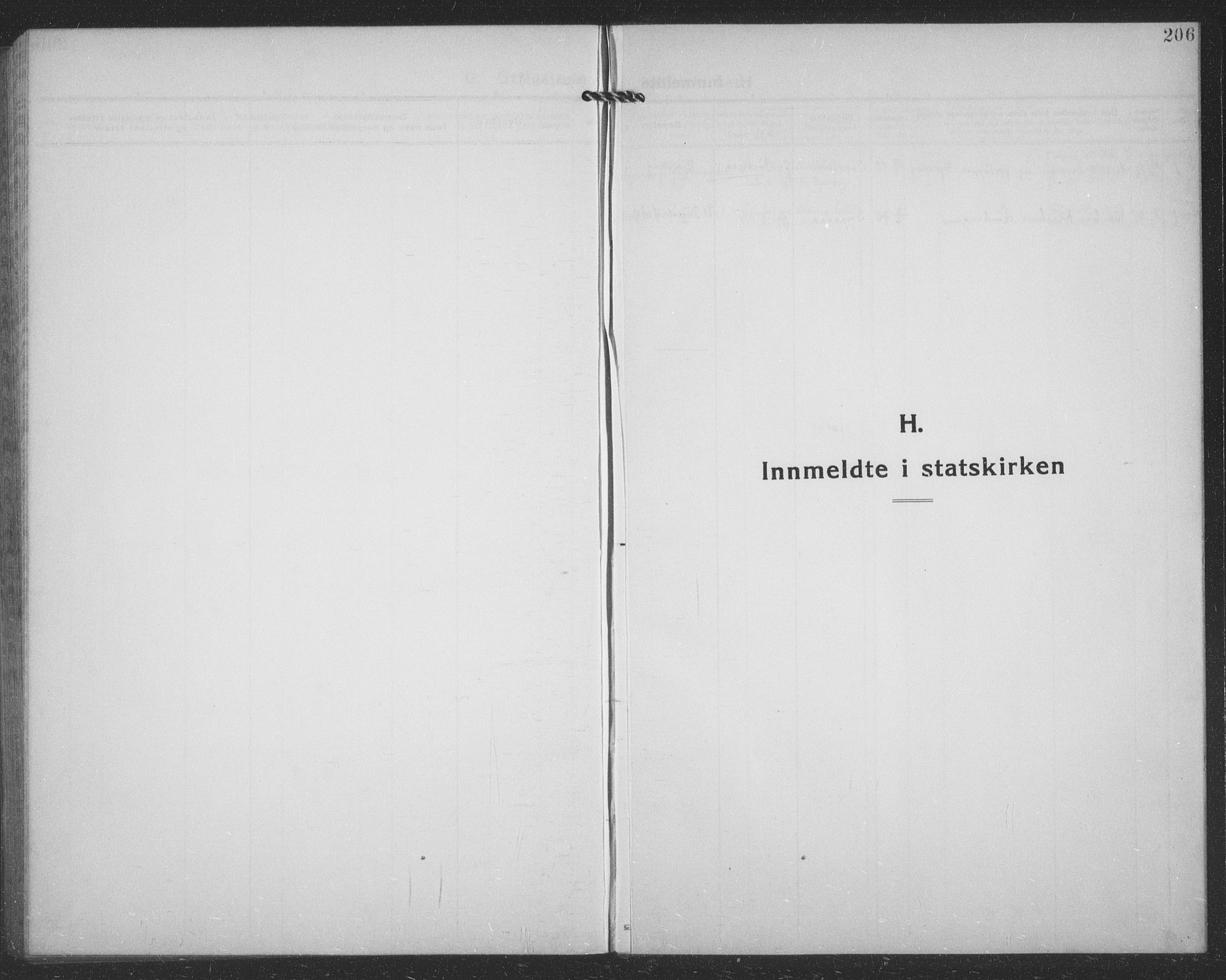 SATØ, Tranøy sokneprestkontor, I/Ia/Iab/L0024klokker: Klokkerbok nr. 24, 1929-1943, s. 206