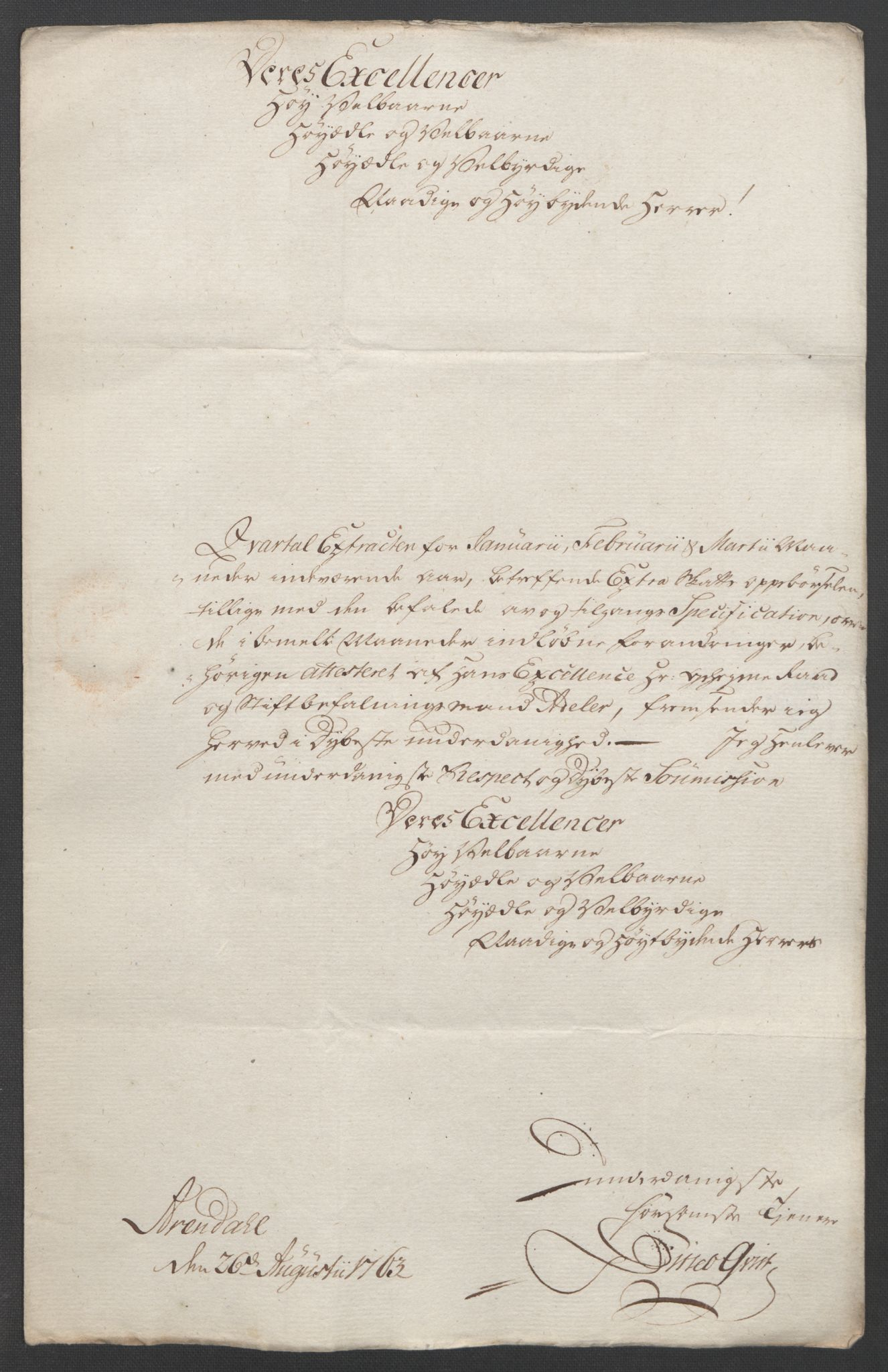 RA, Rentekammeret inntil 1814, Reviderte regnskaper, Fogderegnskap, R39/L2424: Ekstraskatten Nedenes, 1762-1767, s. 68