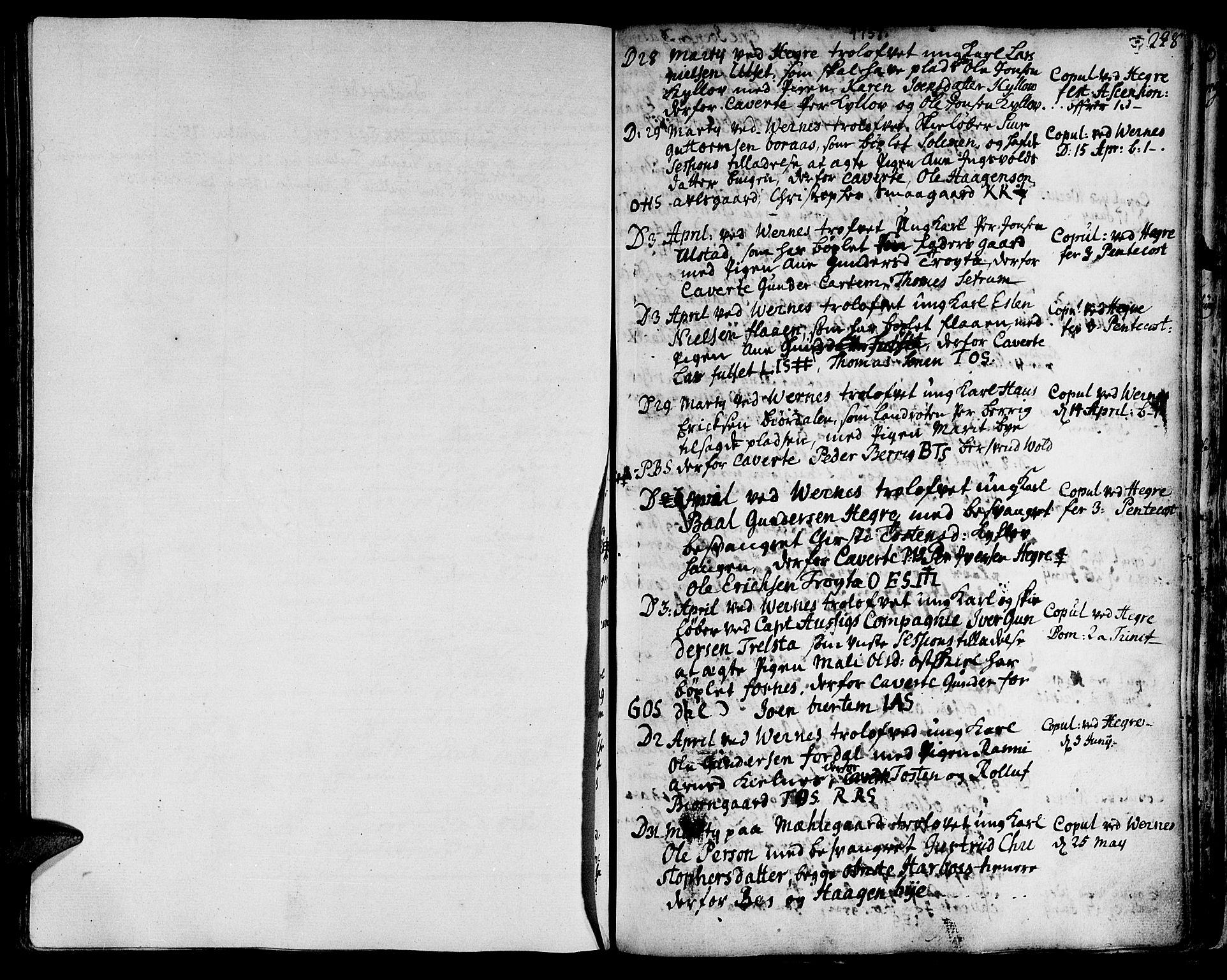 SAT, Ministerialprotokoller, klokkerbøker og fødselsregistre - Nord-Trøndelag, 709/L0056: Ministerialbok nr. 709A04, 1740-1756, s. 228