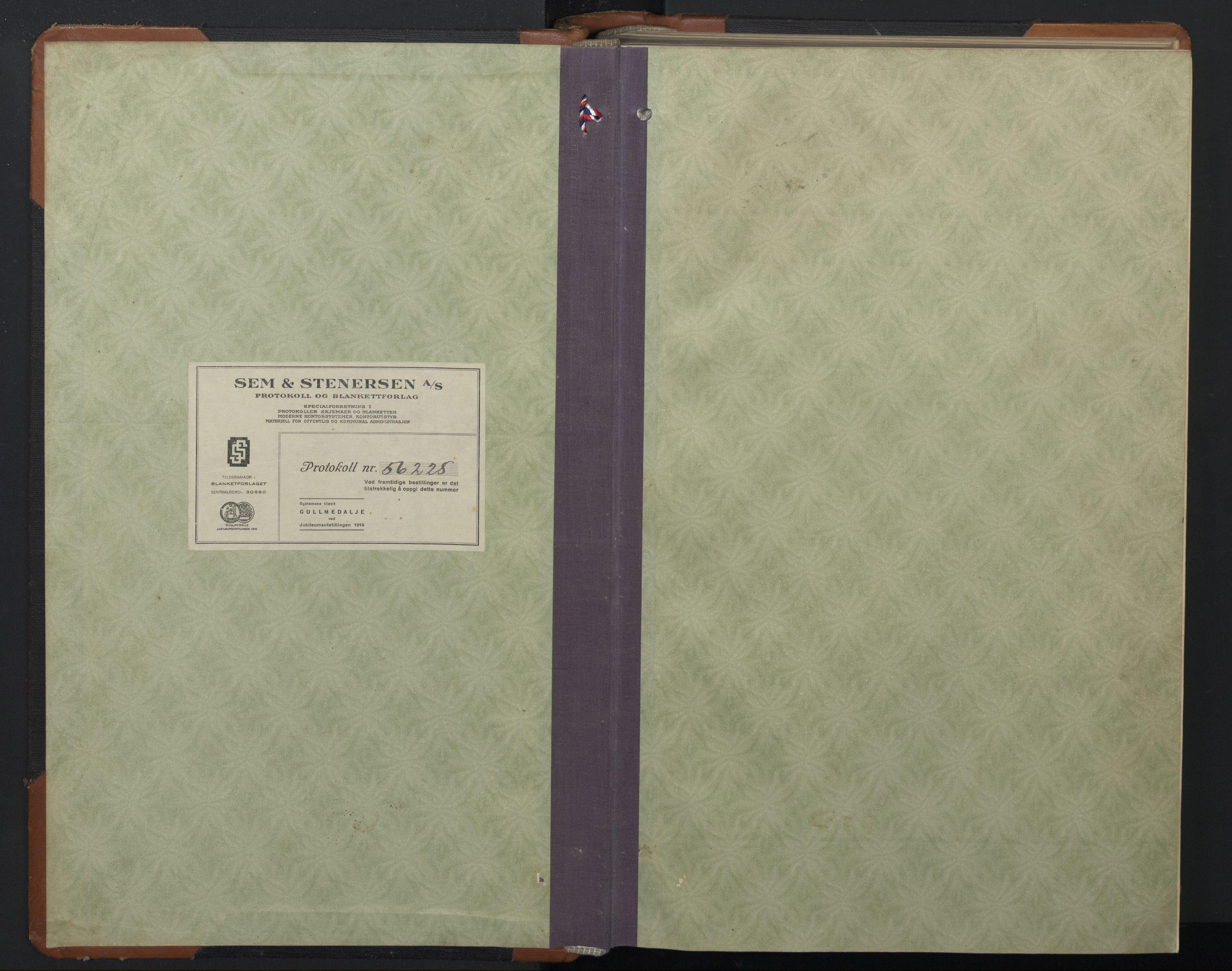 SAT, Ministerialprotokoller, klokkerbøker og fødselsregistre - Sør-Trøndelag, 657/L0718: Klokkerbok nr. 657C05, 1923-1948