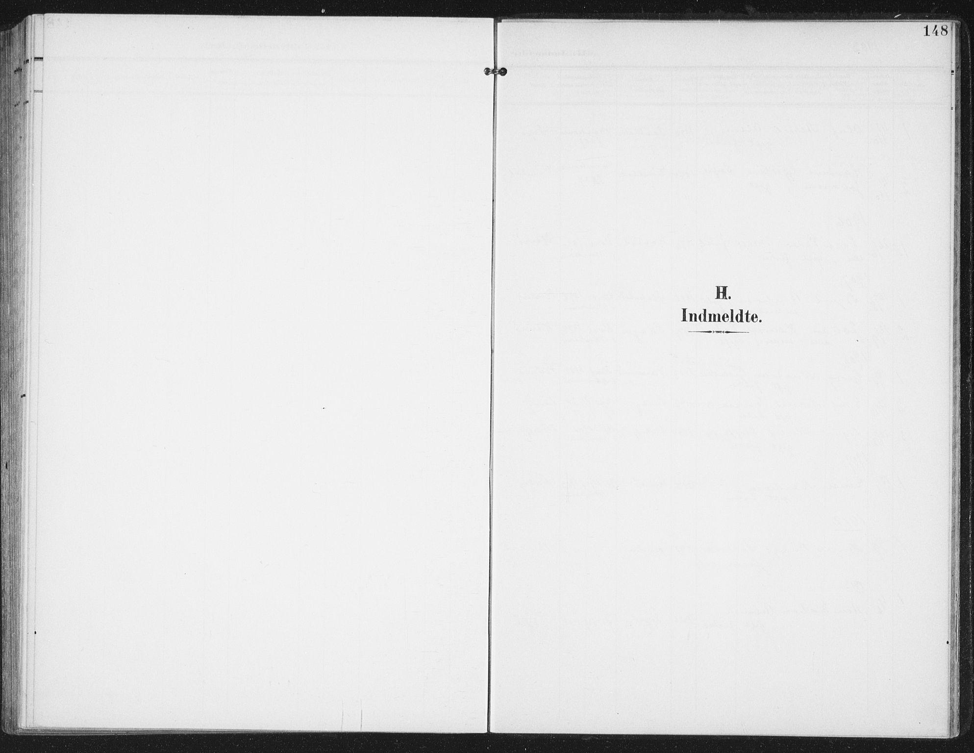 SAT, Ministerialprotokoller, klokkerbøker og fødselsregistre - Nordland, 886/L1221: Ministerialbok nr. 886A03, 1903-1913, s. 148