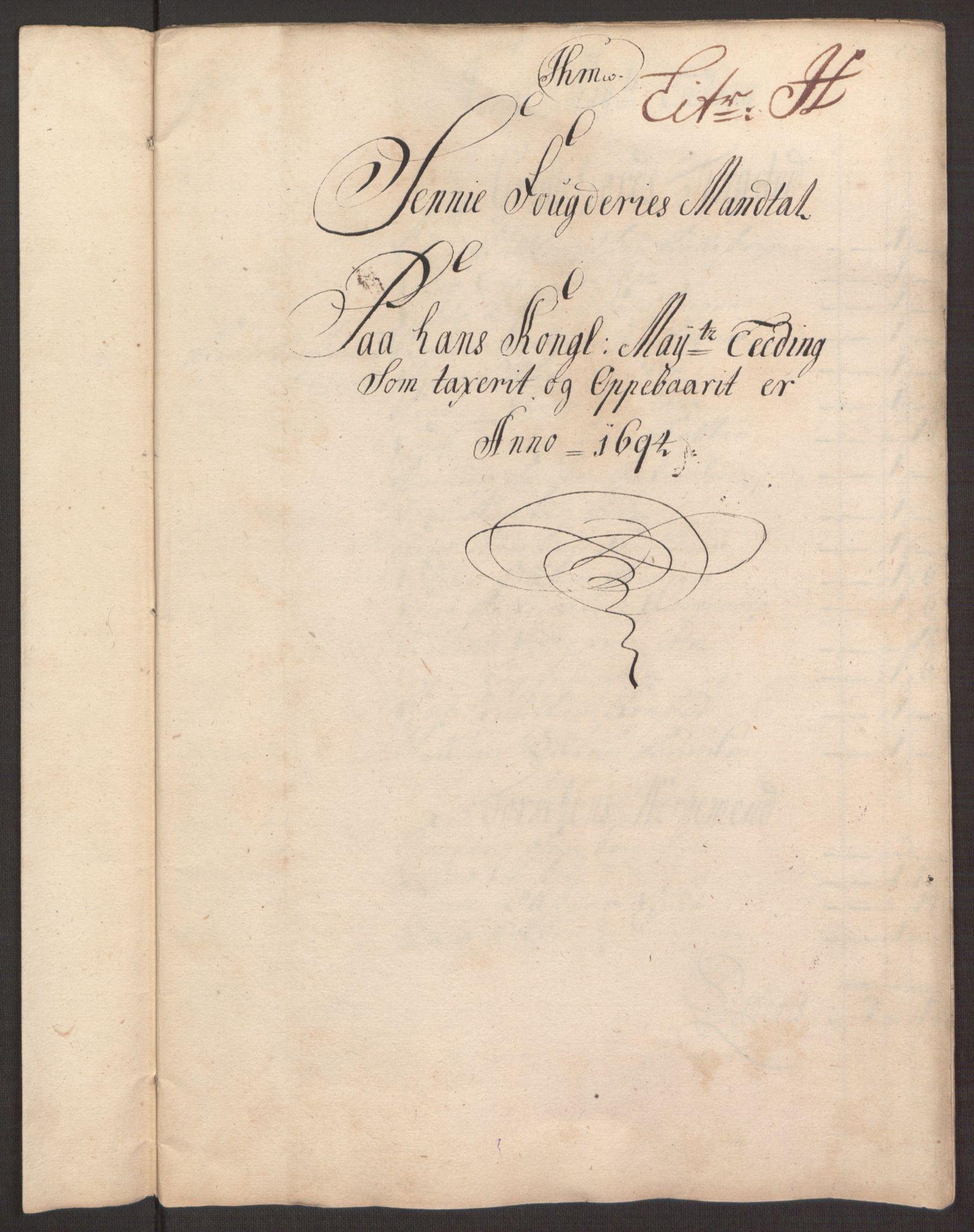RA, Rentekammeret inntil 1814, Reviderte regnskaper, Fogderegnskap, R68/L4753: Fogderegnskap Senja og Troms, 1694-1696, s. 100