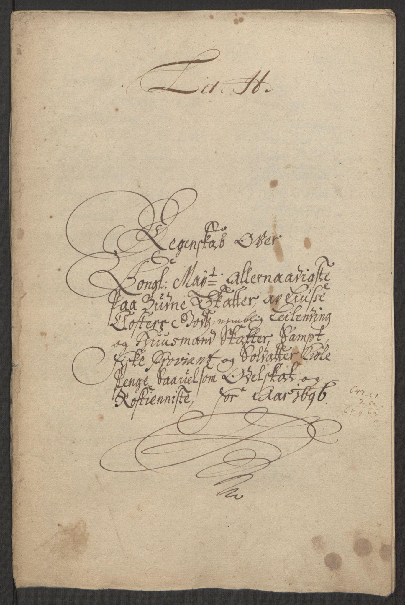 RA, Rentekammeret inntil 1814, Reviderte regnskaper, Fogderegnskap, R50/L3159: Fogderegnskap Lyse kloster, 1691-1709, s. 47
