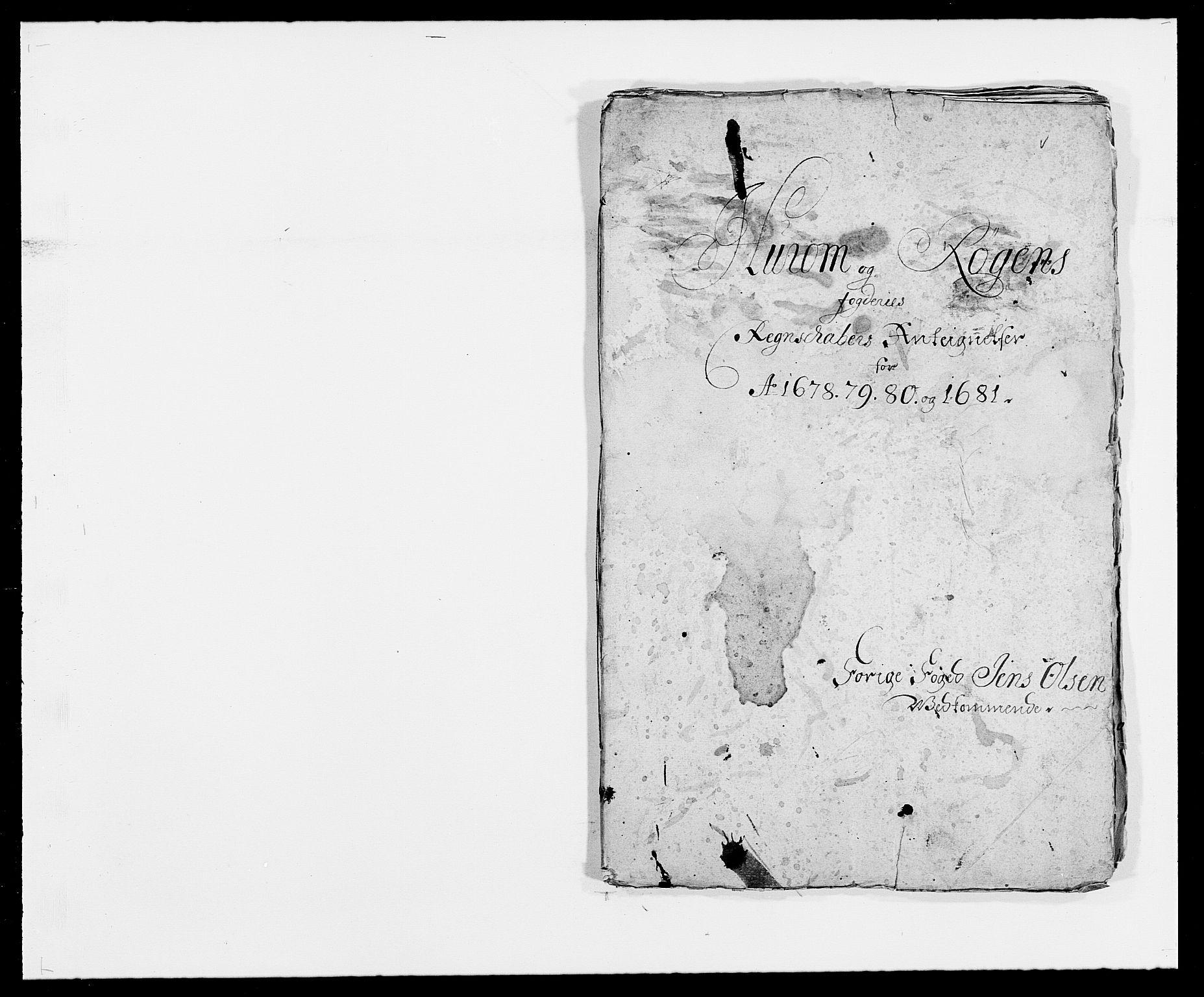 RA, Rentekammeret inntil 1814, Reviderte regnskaper, Fogderegnskap, R29/L1691: Fogderegnskap Hurum og Røyken, 1678-1681, s. 435