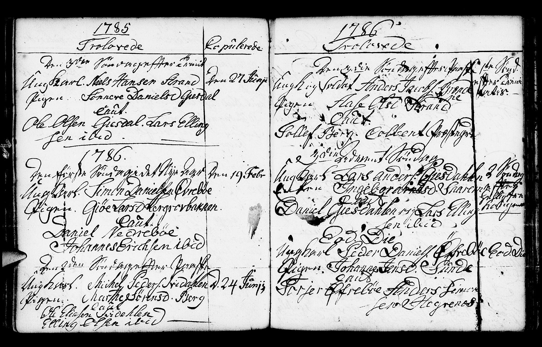 SAB, Jølster Sokneprestembete, Ministerialbok nr. A 3, 1748-1789, s. 188
