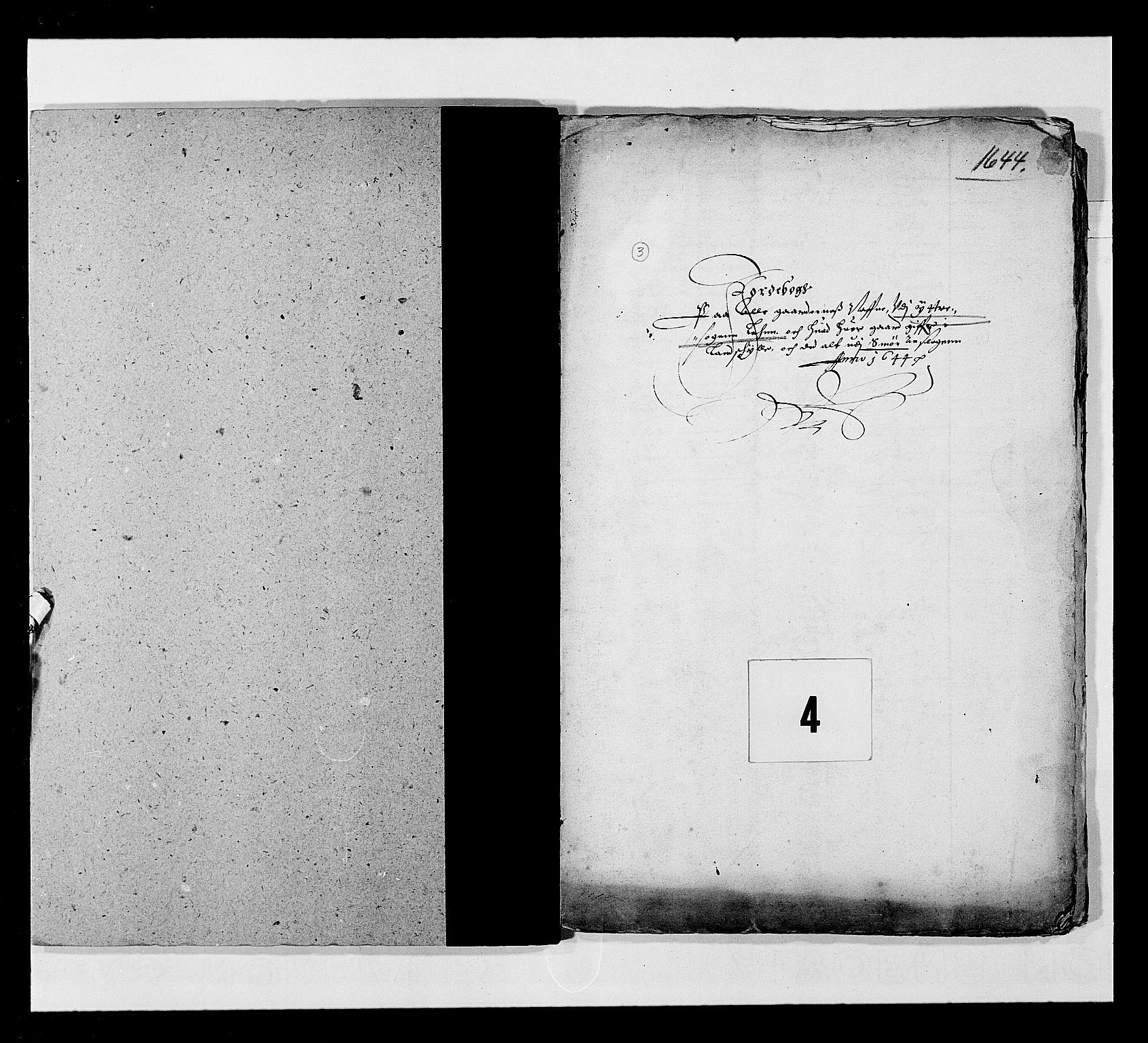 RA, Stattholderembetet 1572-1771, Ek/L0024: Jordebøker 1633-1658:, 1644, s. 24