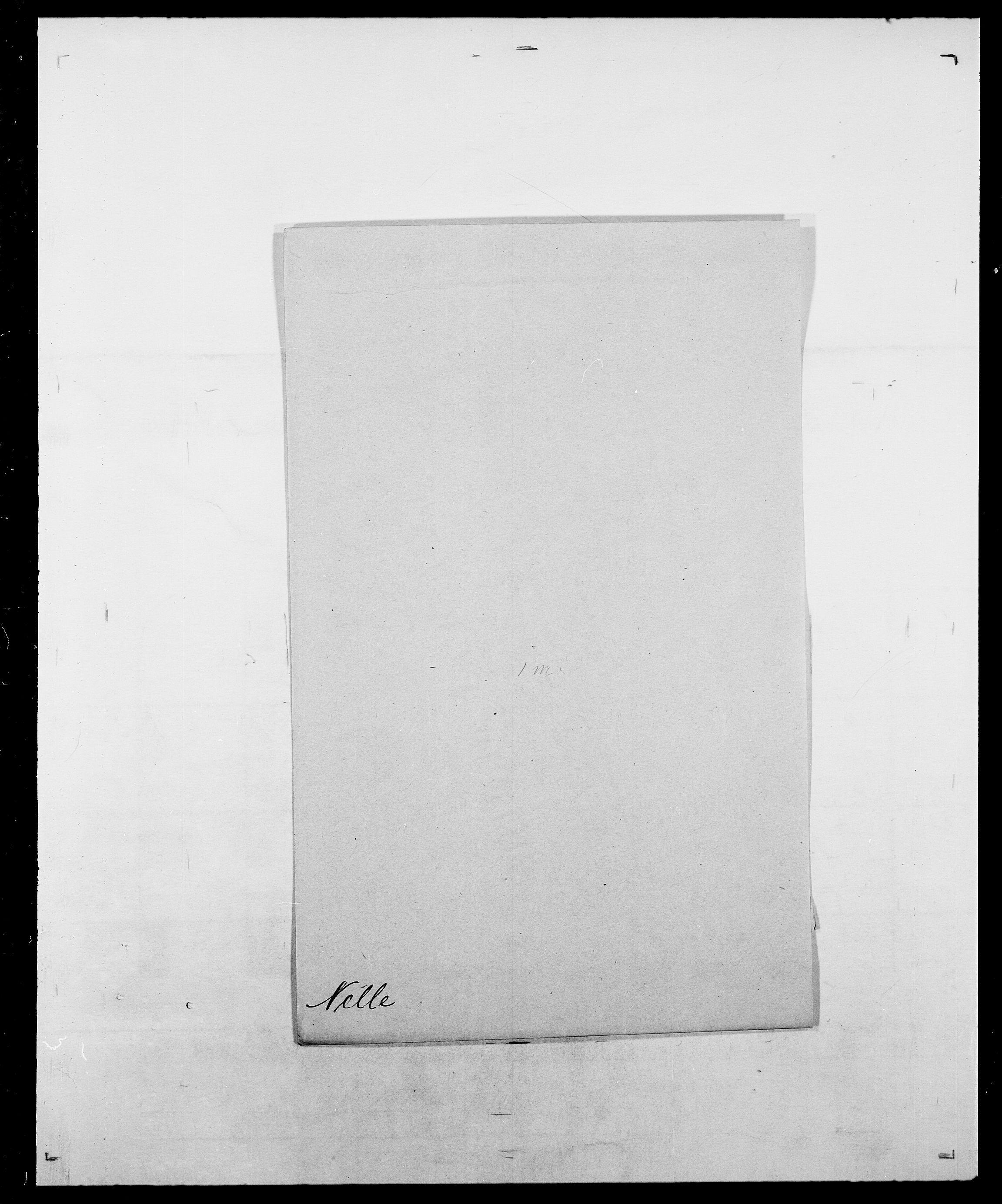 SAO, Delgobe, Charles Antoine - samling, D/Da/L0028: Naaden - Nøvik, s. 98