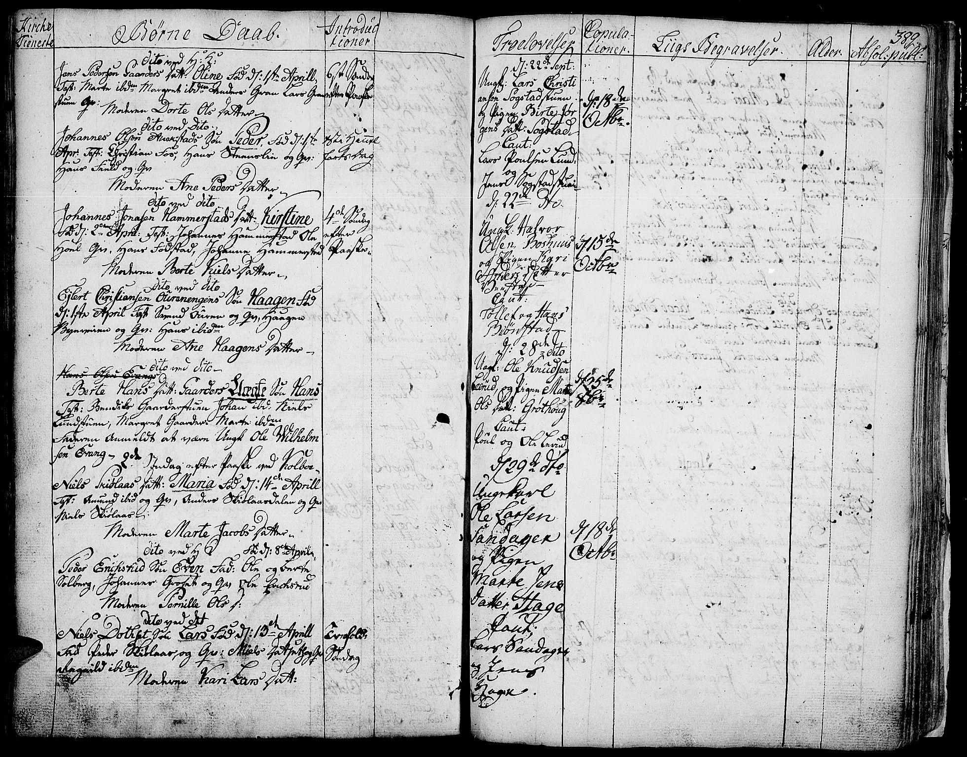 SAH, Toten prestekontor, Ministerialbok nr. 6, 1773-1793, s. 389a