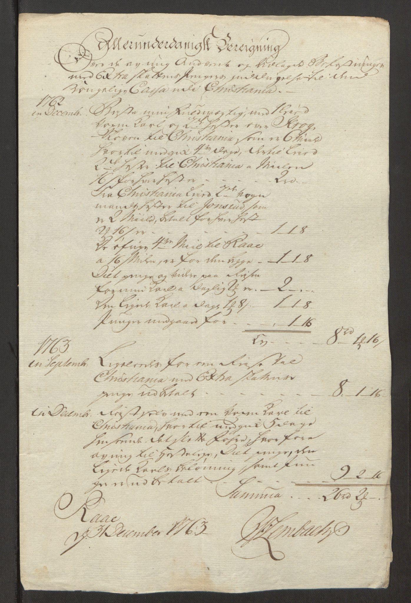 RA, Rentekammeret inntil 1814, Reviderte regnskaper, Fogderegnskap, R23/L1565: Ekstraskatten Ringerike og Hallingdal, 1762-1763, s. 565