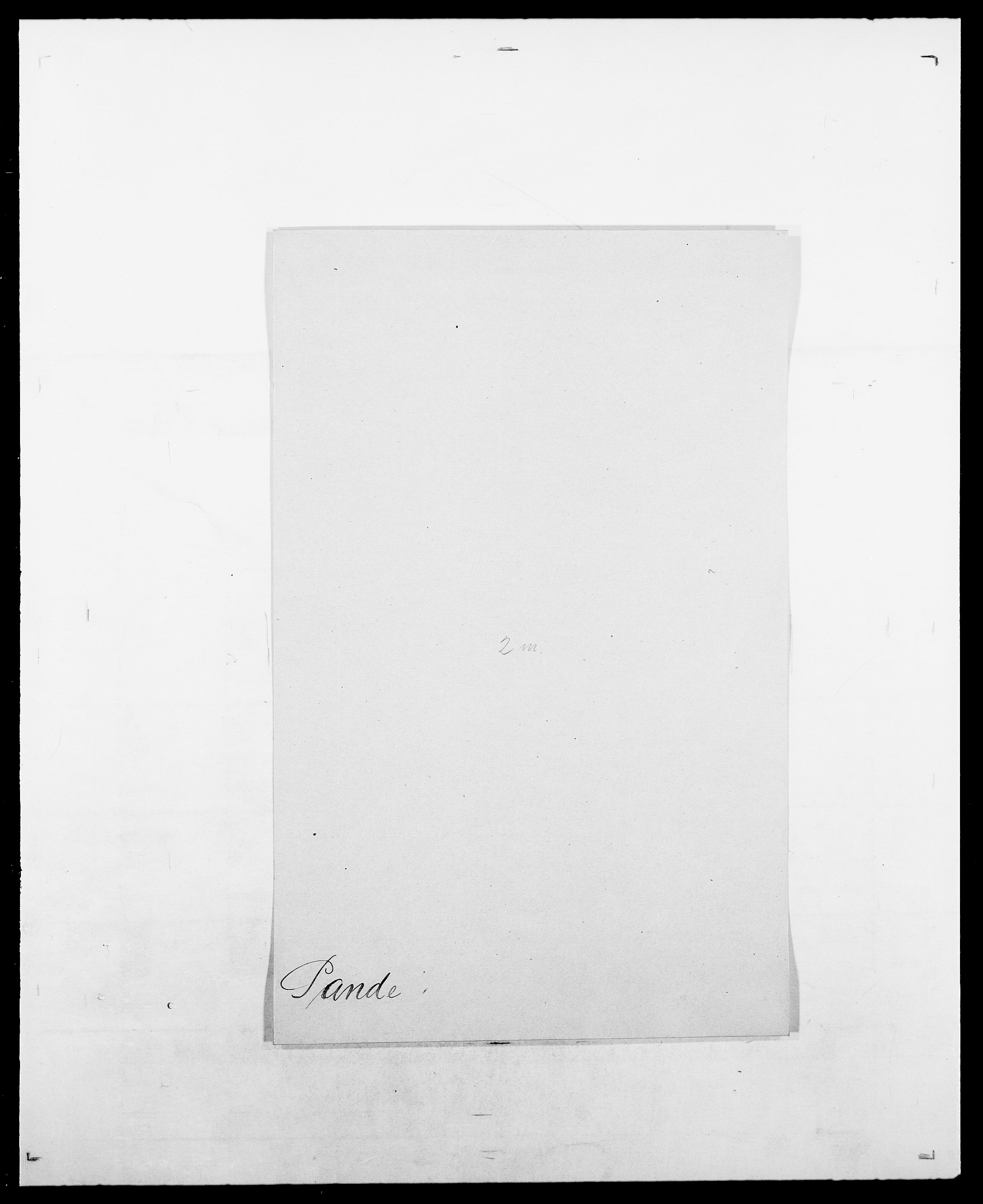 SAO, Delgobe, Charles Antoine - samling, D/Da/L0030: Paars - Pittelkov, s. 85