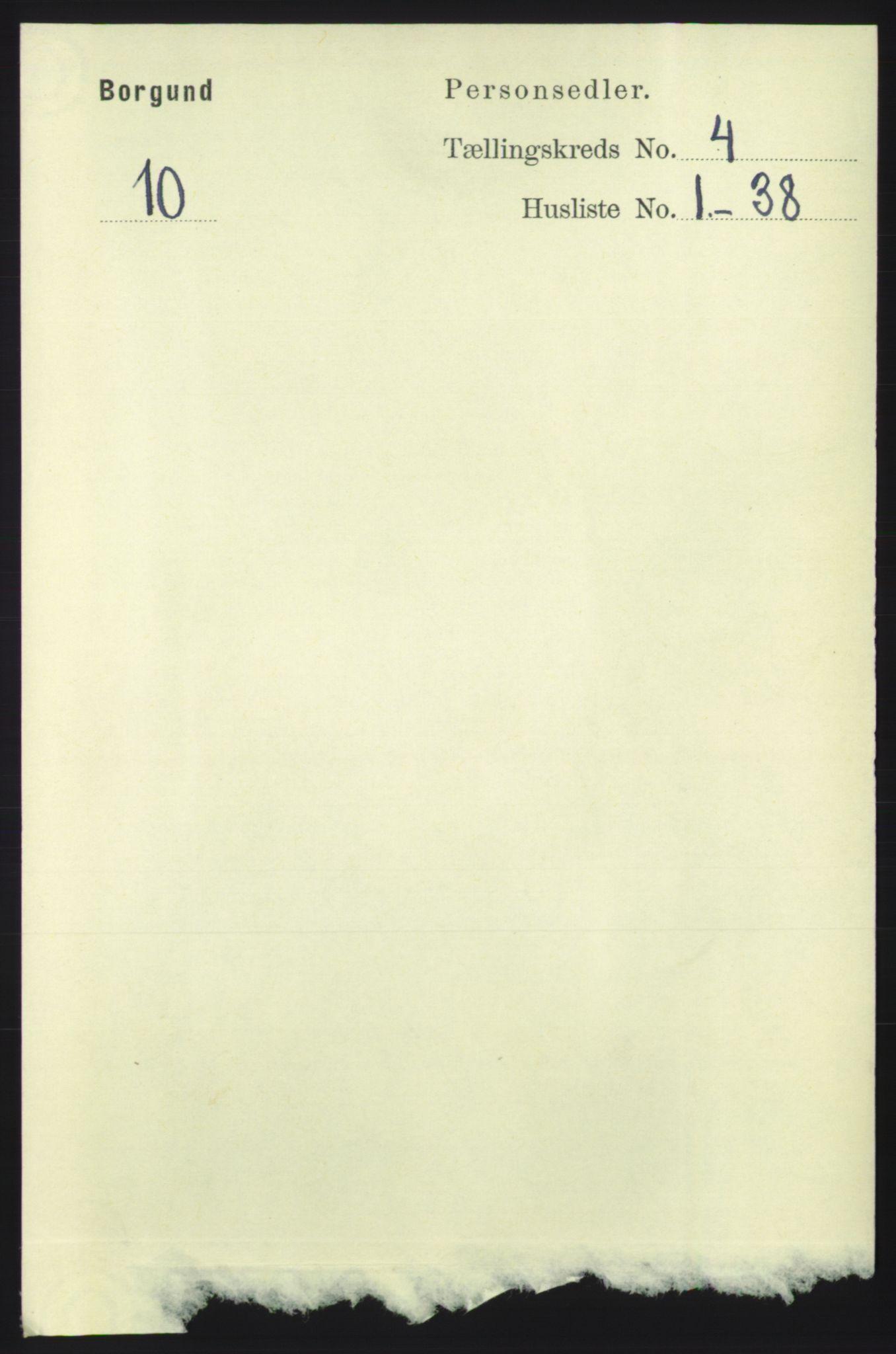RA, Folketelling 1891 for 1531 Borgund herred, 1891, s. 999