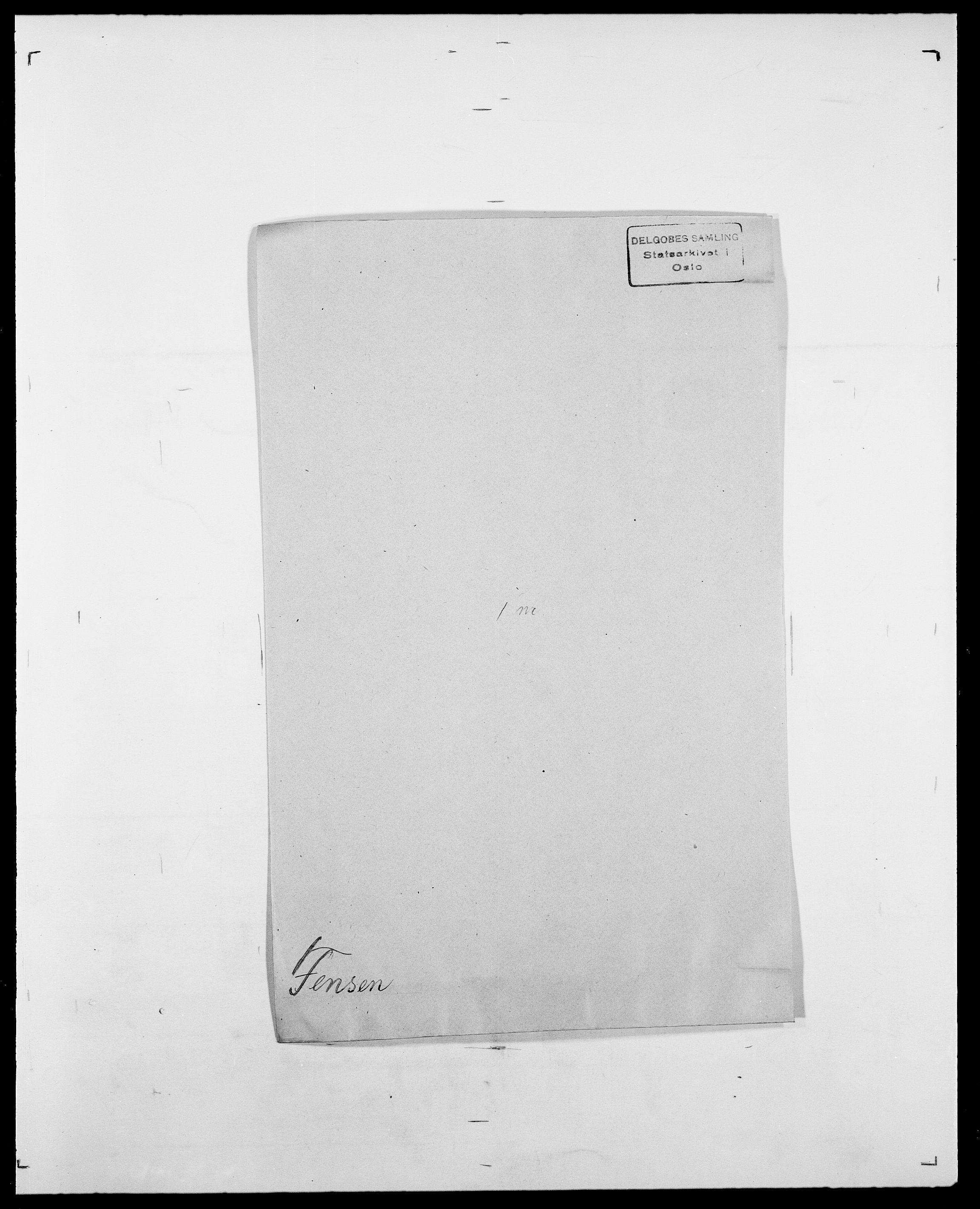 SAO, Delgobe, Charles Antoine - samling, D/Da/L0011: Fahlander - Flood, Flod, s. 357