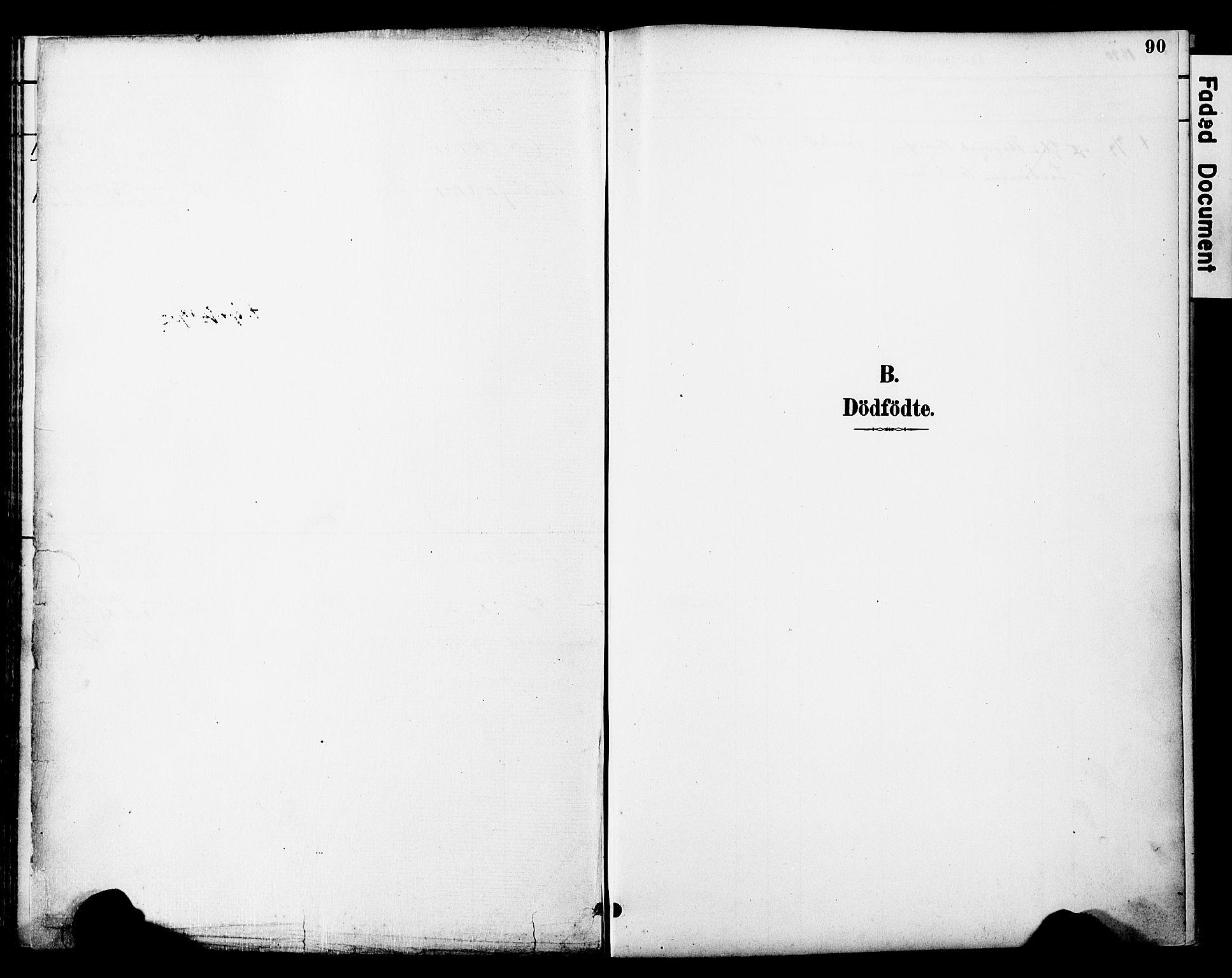 SAT, Ministerialprotokoller, klokkerbøker og fødselsregistre - Nord-Trøndelag, 774/L0628: Ministerialbok nr. 774A02, 1887-1903, s. 90