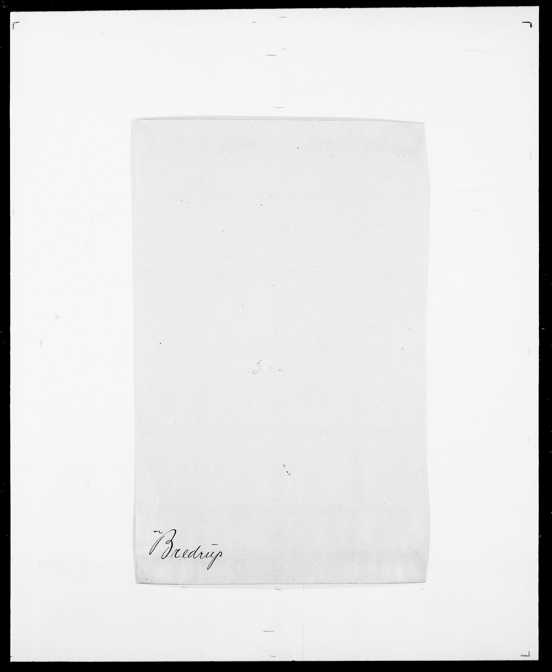 SAO, Delgobe, Charles Antoine - samling, D/Da/L0006: Brambani - Brønø, s. 265