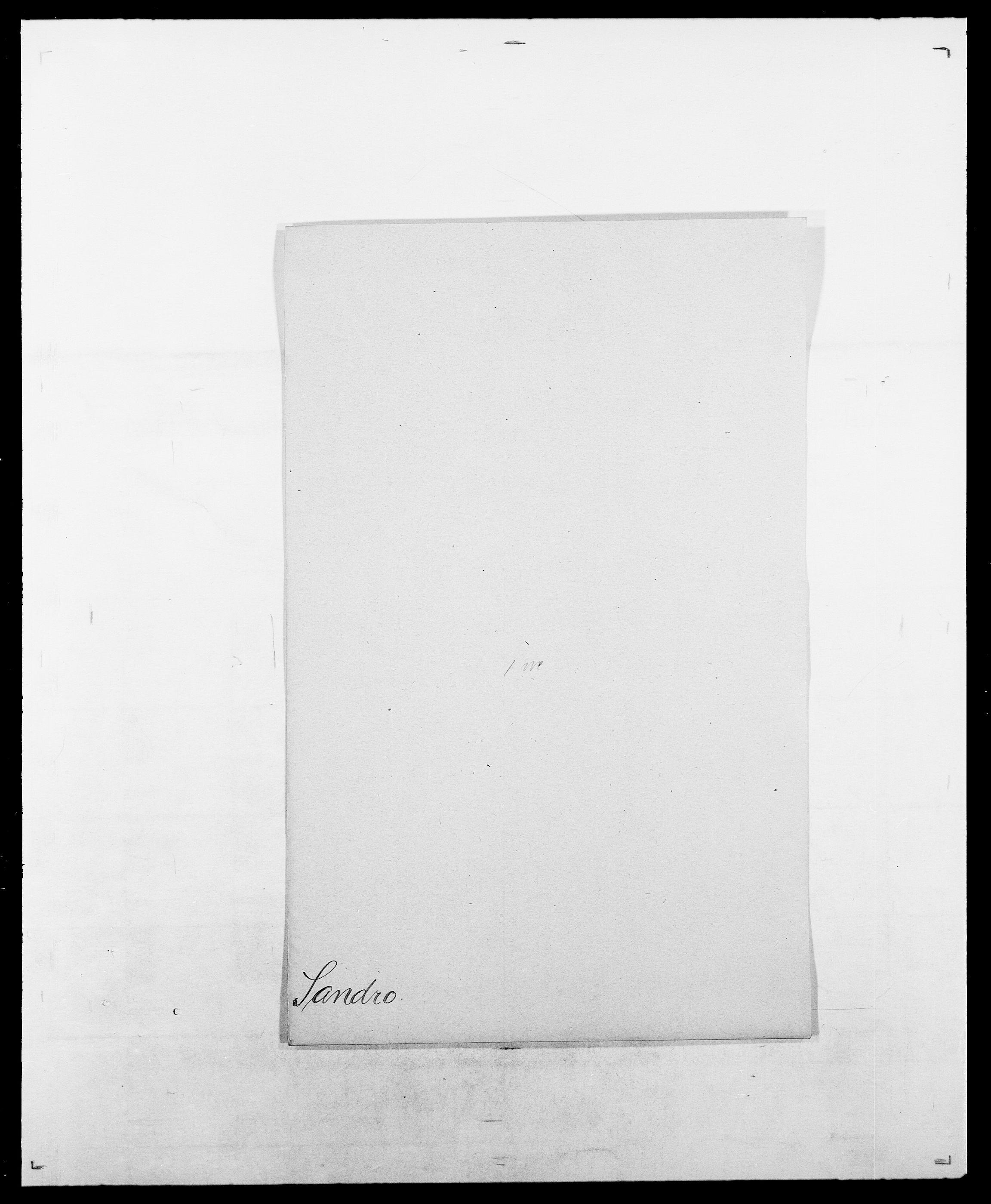 SAO, Delgobe, Charles Antoine - samling, D/Da/L0034: Saabye - Schmincke, s. 192