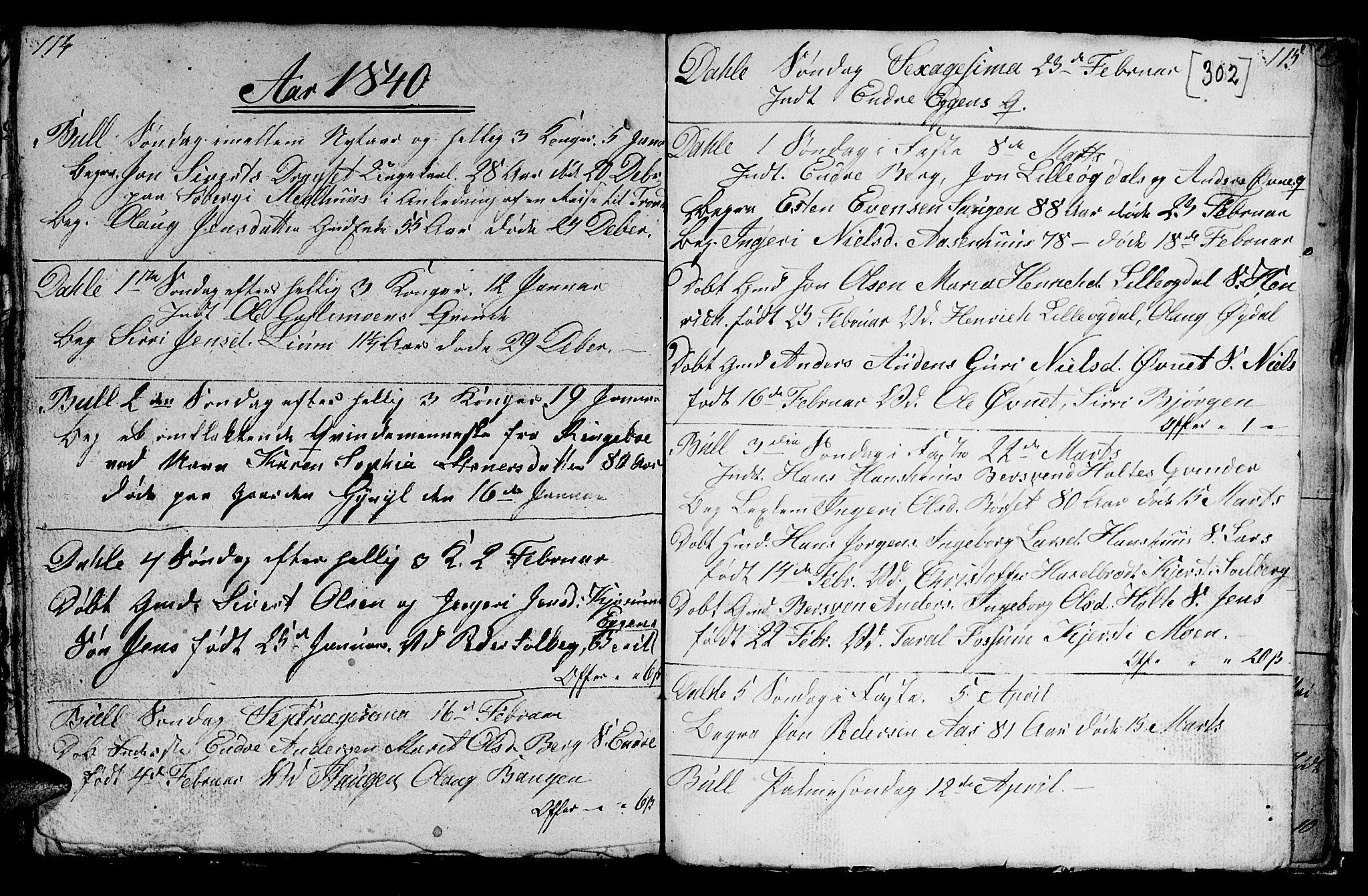 SAT, Ministerialprotokoller, klokkerbøker og fødselsregistre - Sør-Trøndelag, 689/L1042: Klokkerbok nr. 689C01, 1812-1841, s. 301-302