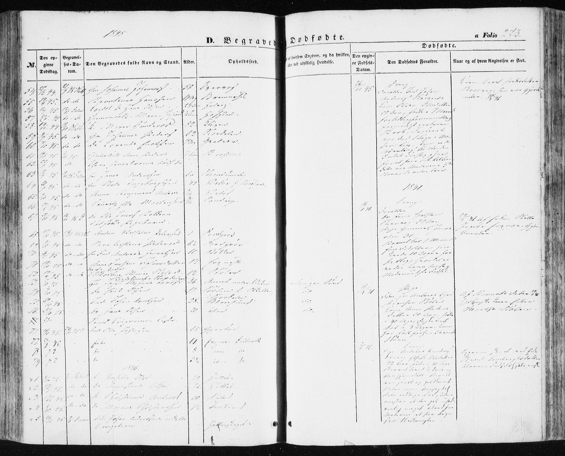 SAT, Ministerialprotokoller, klokkerbøker og fødselsregistre - Sør-Trøndelag, 634/L0529: Ministerialbok nr. 634A05, 1843-1851, s. 273